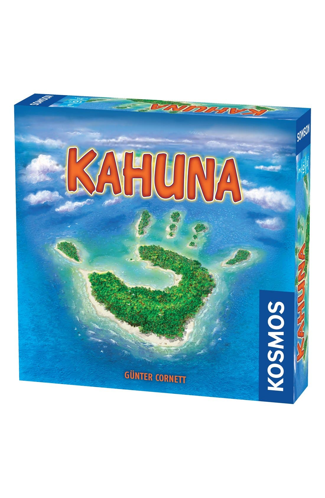 'Kahuna' Two-Player Board Game,                         Main,                         color, Blue