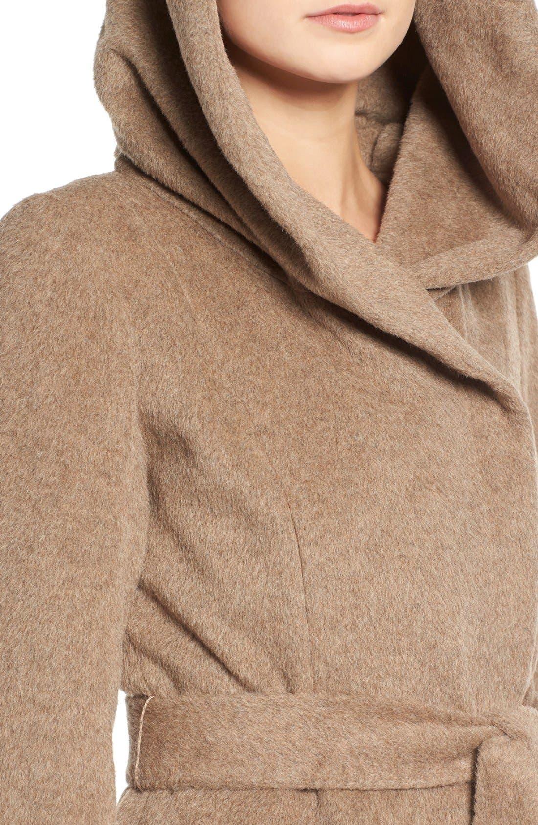 Alternate Image 4  - Cole HaanAlpaca & Wool Wrap Coat