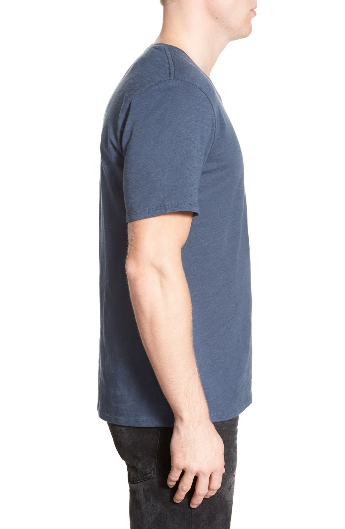 Alternate Image 3  - The Rail Slub Cotton V-Neck T-Shirt