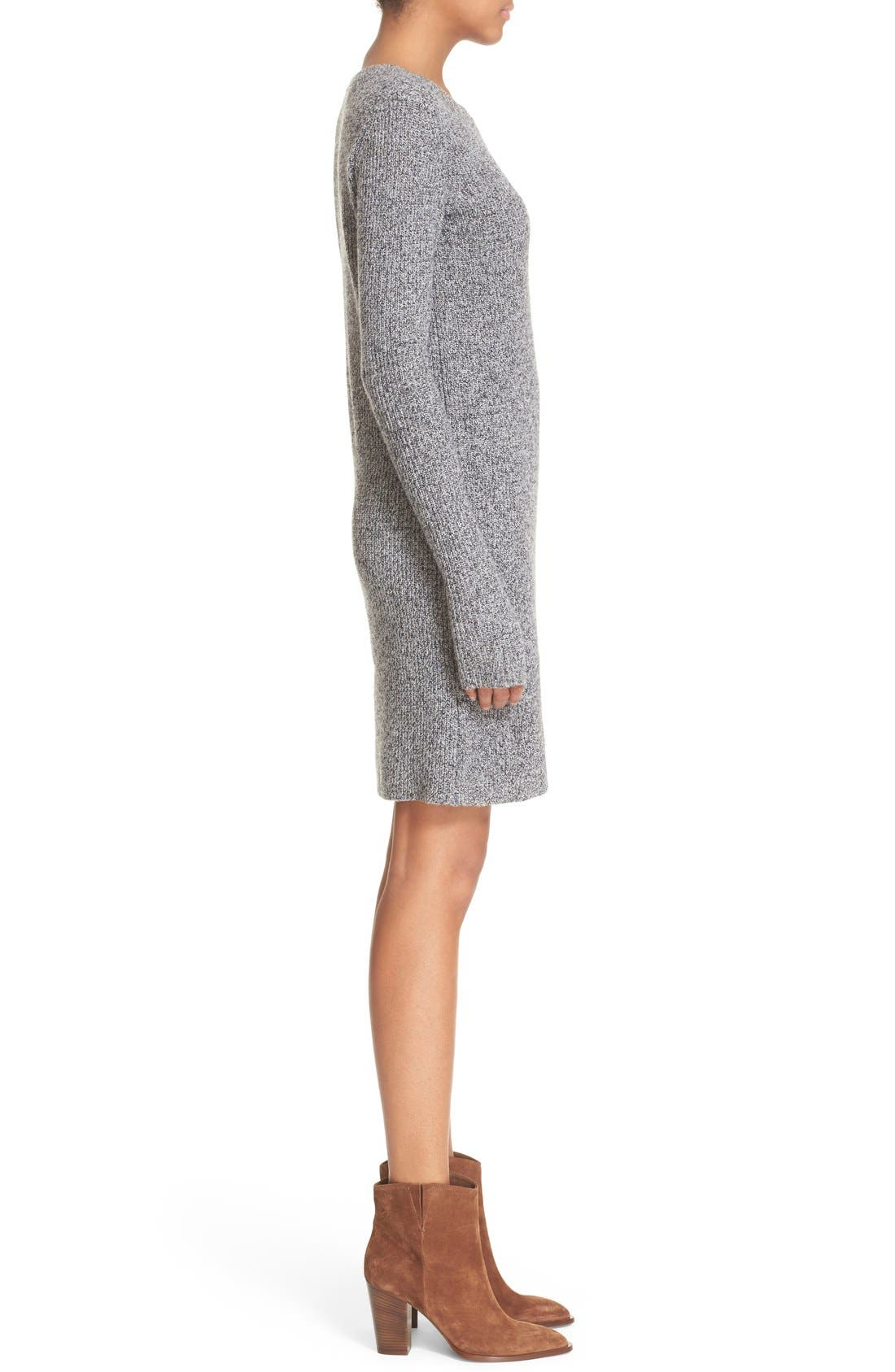 Alternate Image 3  - Current/Elliott 'The Easy Sweater' Wool & Cashmere Sweater Dress