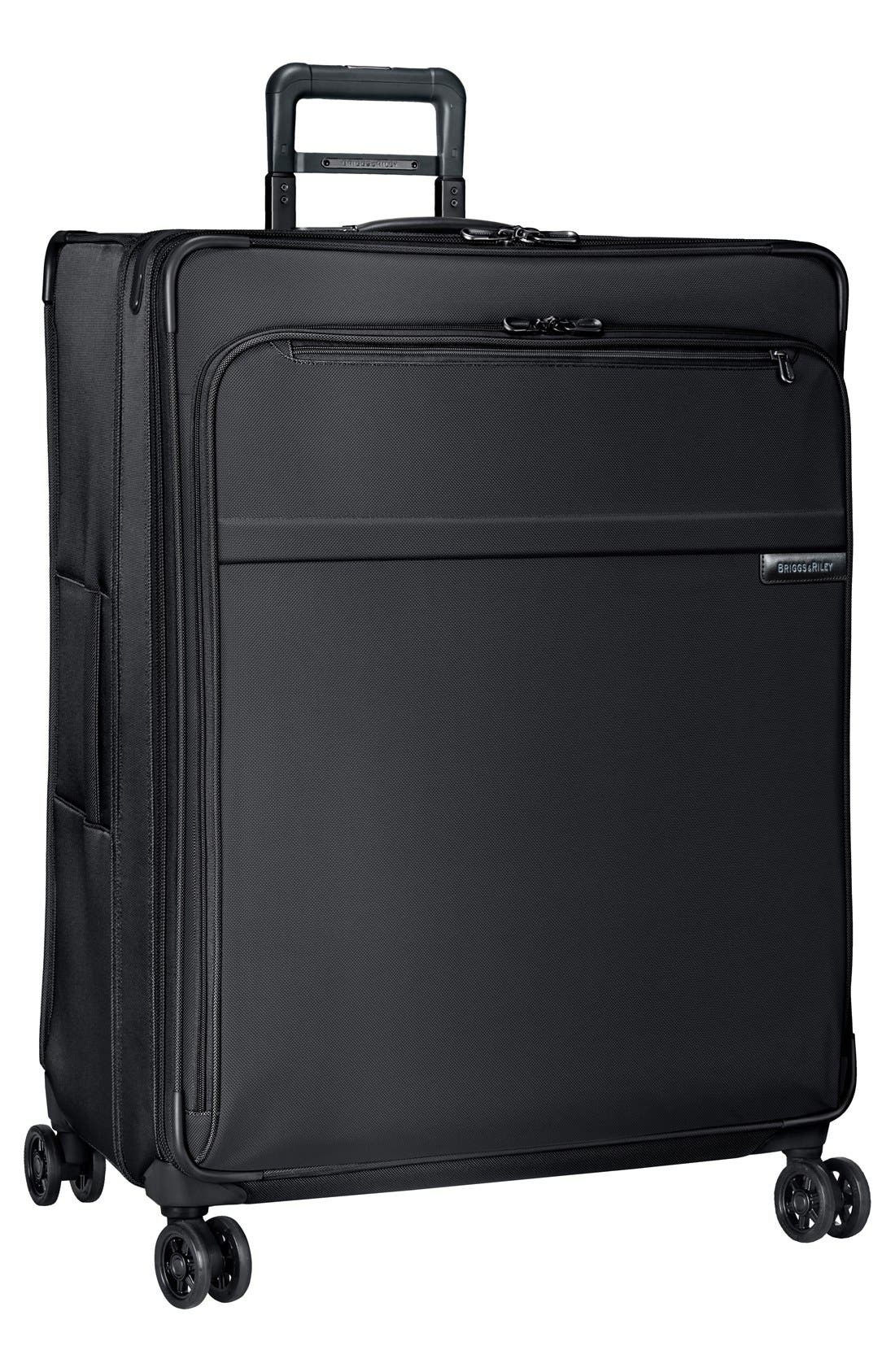 'Baseline' Extra Large 31-Inch Expandable Spinner,                             Main thumbnail 1, color,                             Black