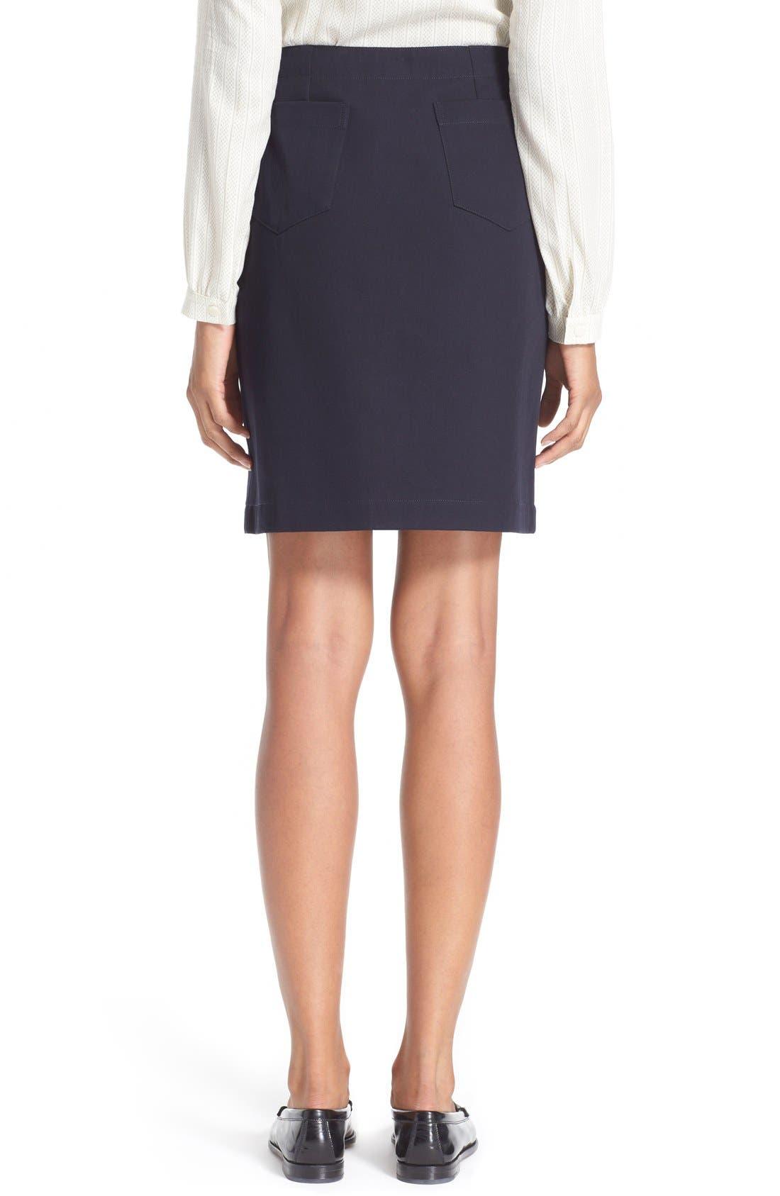 Alternate Image 2  - A.P.C. 'Lana' Cotton Skirt