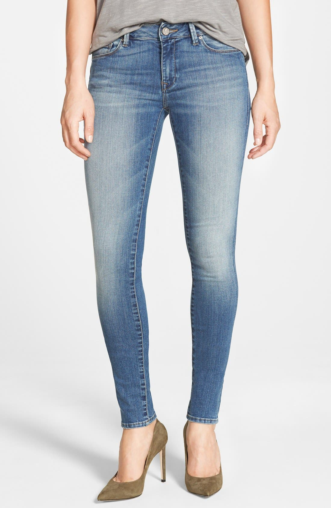 Mavi Jeans 'Adriana' Stretch Skinny Jeans (Used Tribecca)