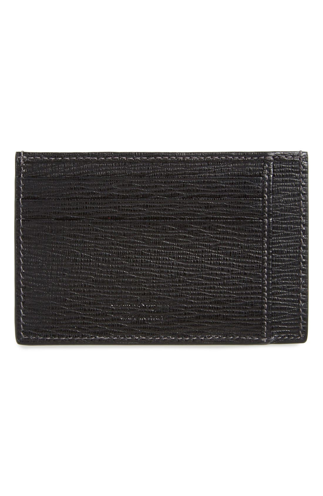Card Case,                             Alternate thumbnail 2, color,                             Black