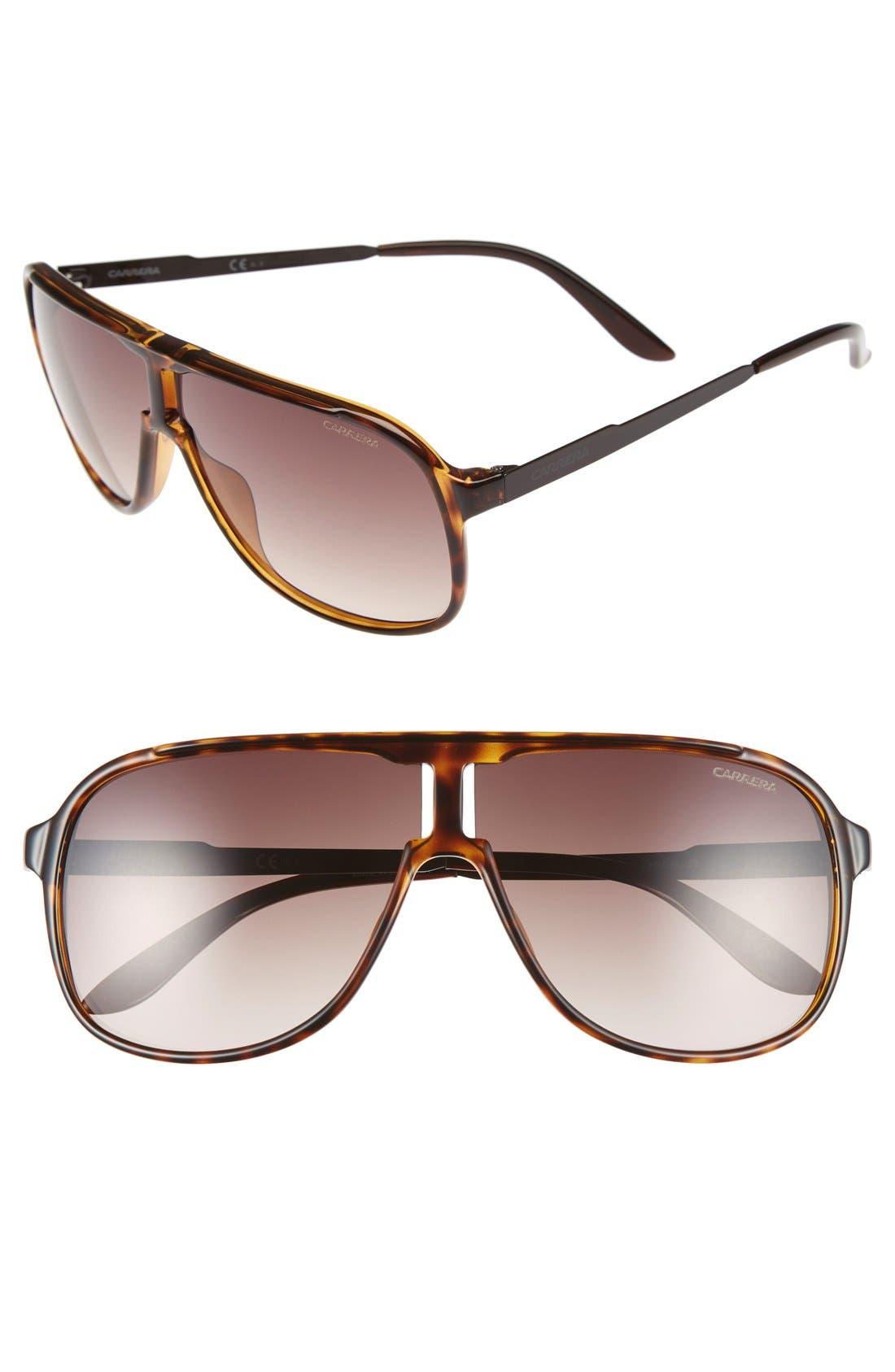 Carrera Eyewear 'Safari' 62mm Aviator Sunglasses