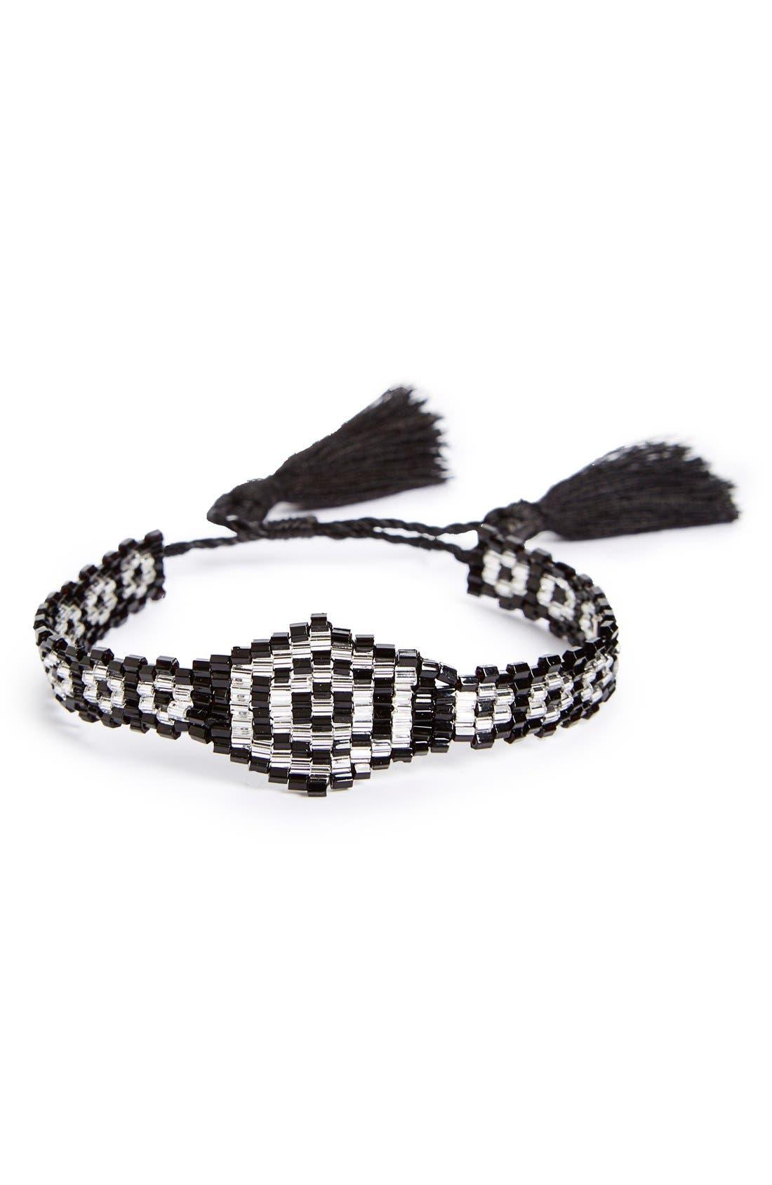 Main Image - BP. Seed Bead Friendship Bracelet