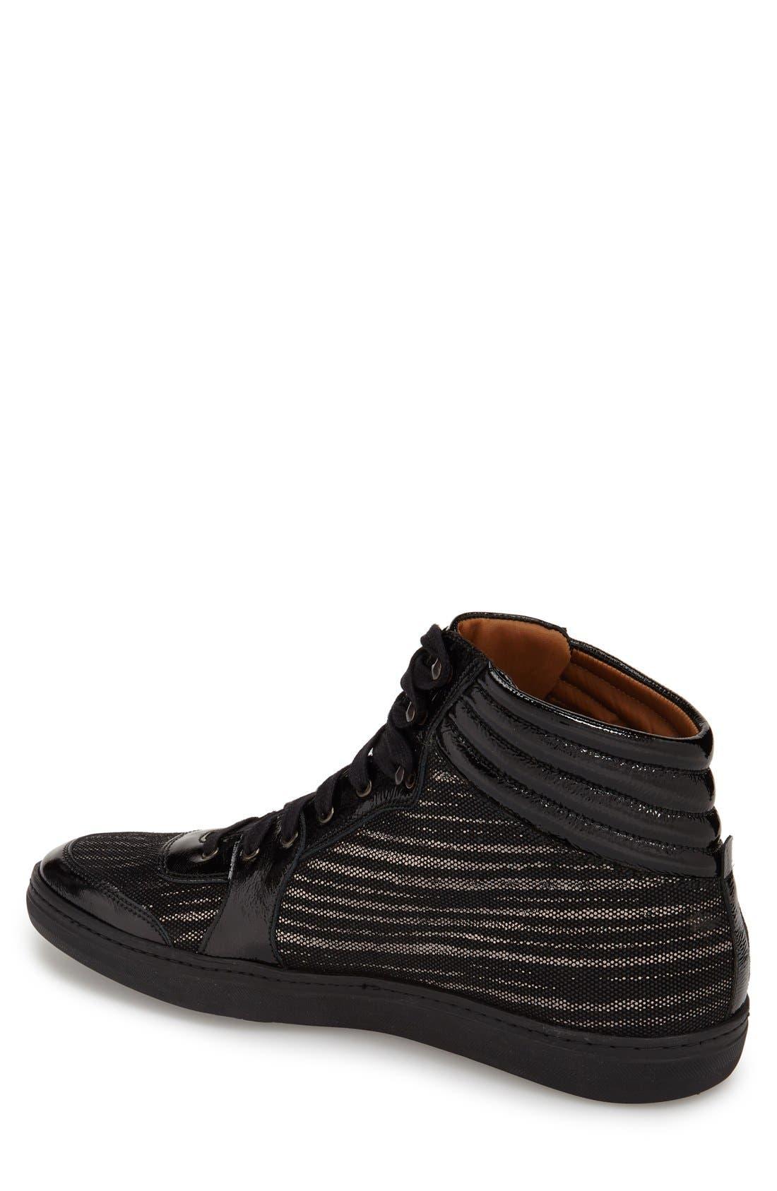'Bordeau' Sneaker,                             Alternate thumbnail 2, color,                             Black