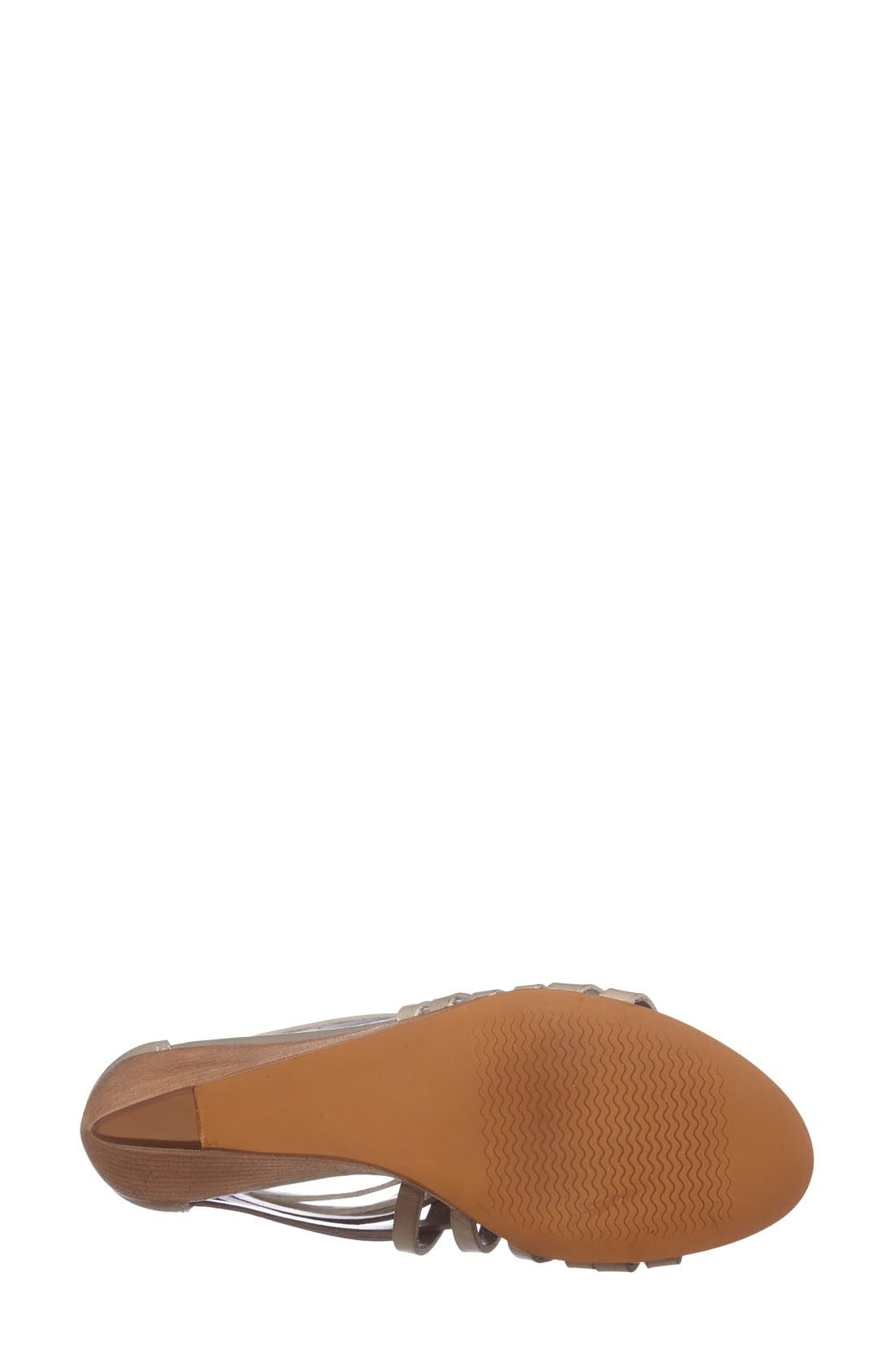 Alternate Image 4  - Hinge 'Neta' Leather Wedge Sandal (Women)