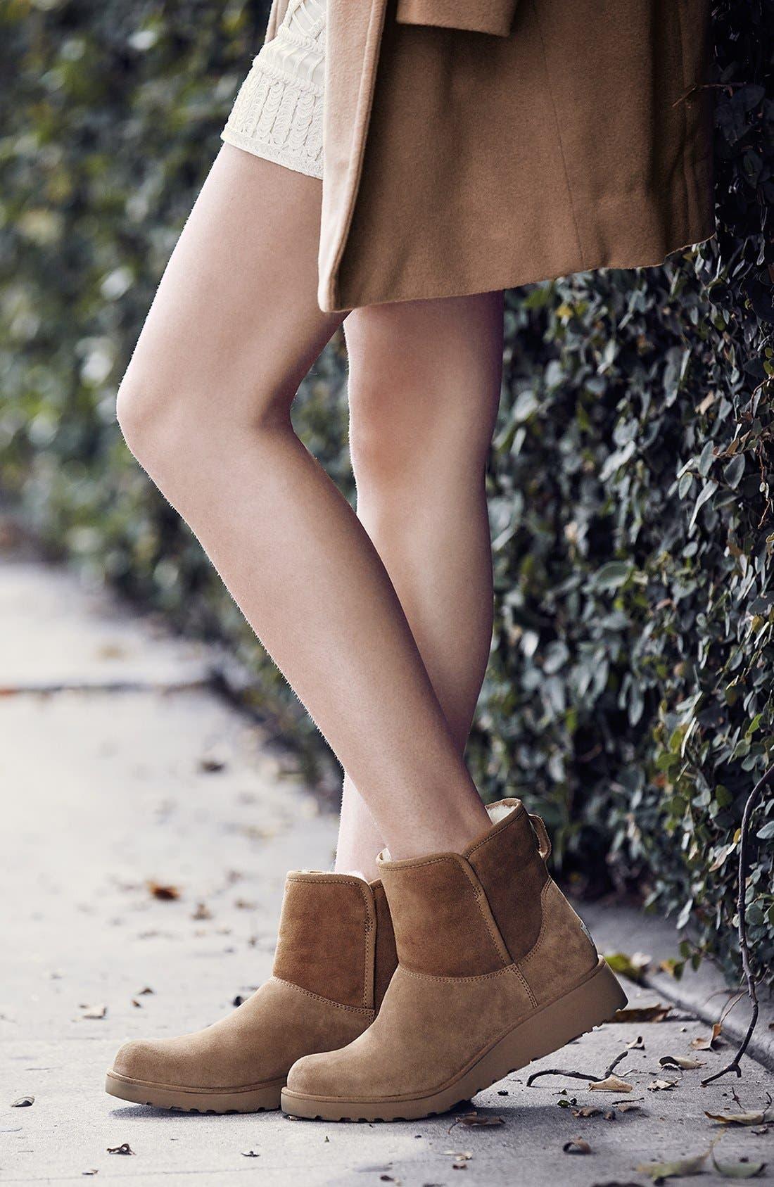 Alternate Image 6  - UGG® Kristin - Classic Slim™ Water Resistant Mini Boot (Women)