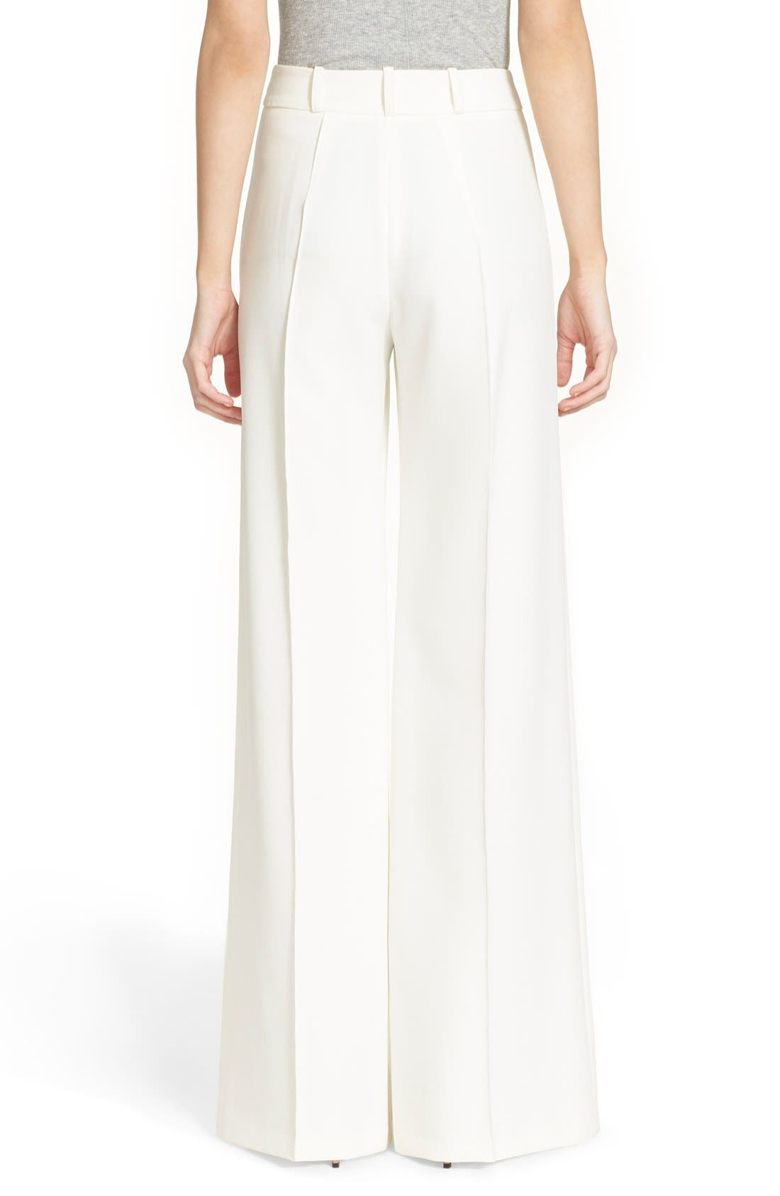 Alternate Image 2  - Milly 'Hayden' Wide Leg Trousers