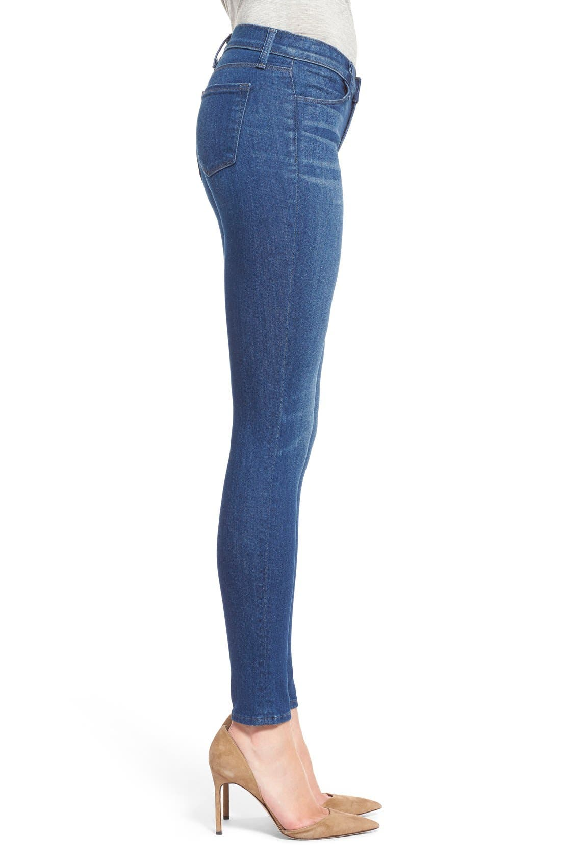 Alternate Image 3  - J Brand Super Skinny Jeans (Enigma)