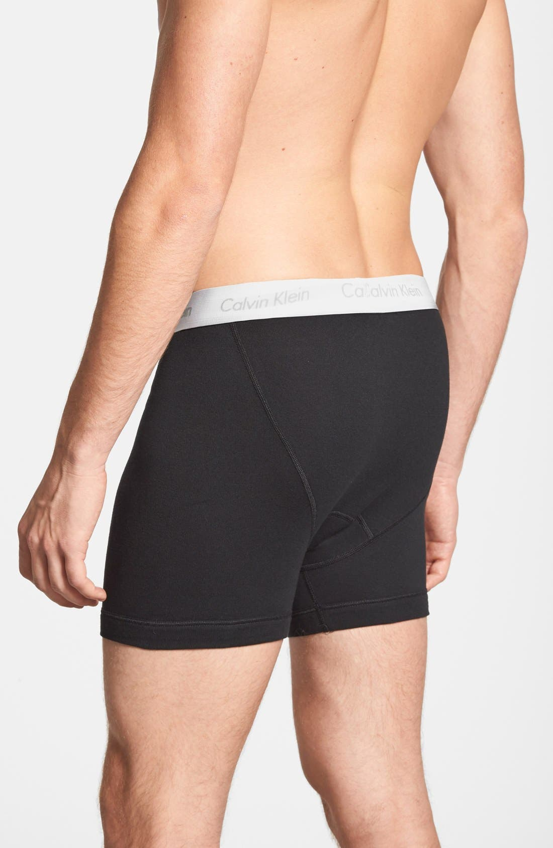 Alternate Image 2  - Calvin Klein 2-Pack Boxer Briefs