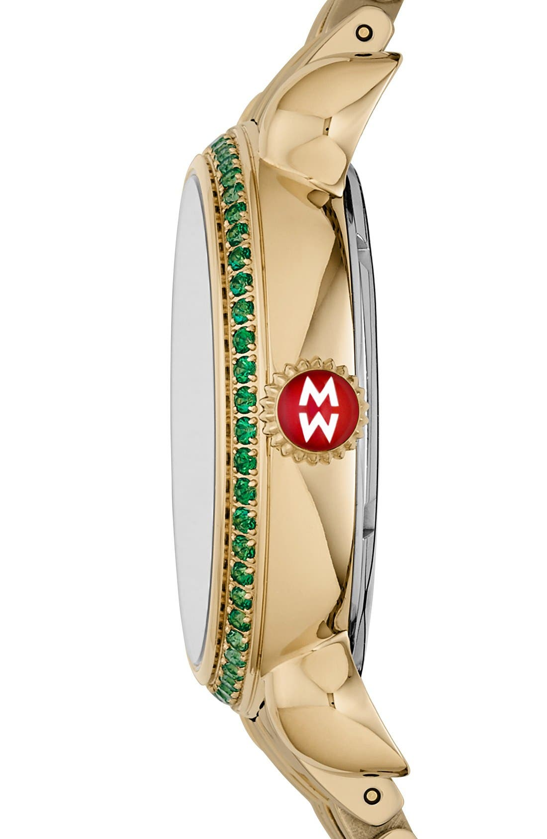 Alternate Image 2  - MICHELE 'Exotic Creatures' Bracelet Watch Case, 36mm