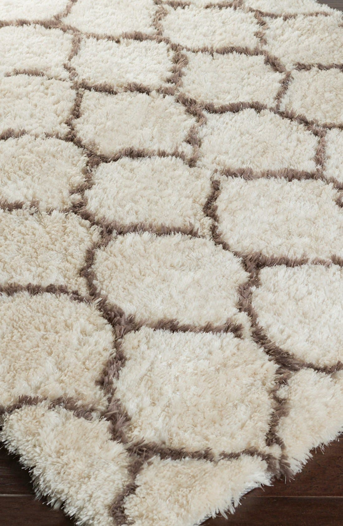 'Scout' Hand Tufted Rug,                             Alternate thumbnail 2, color,                             Light Grey/ Olive