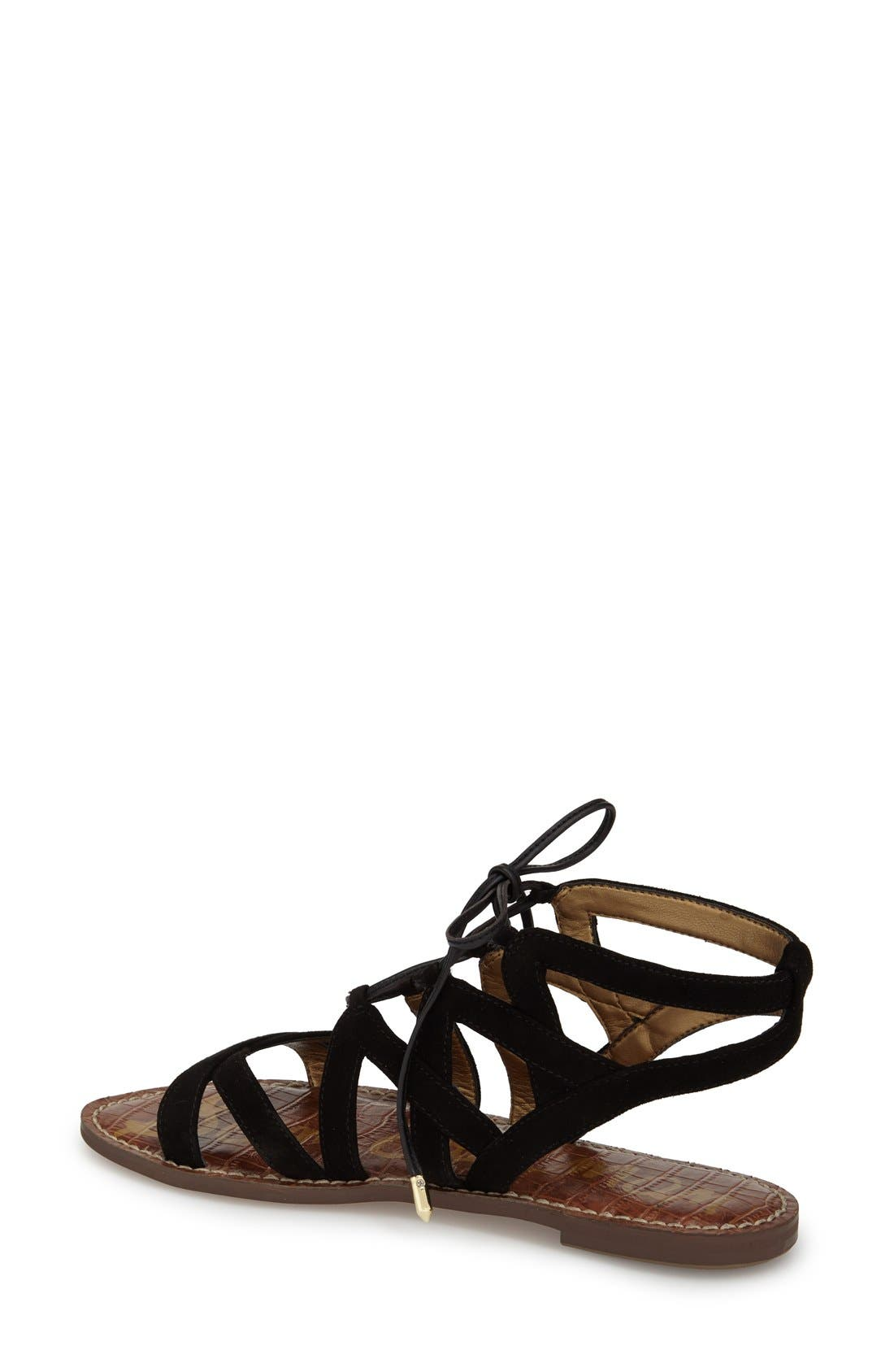 Alternate Image 2  - Sam Edelman Gemma Lace-Up Sandal (Women)