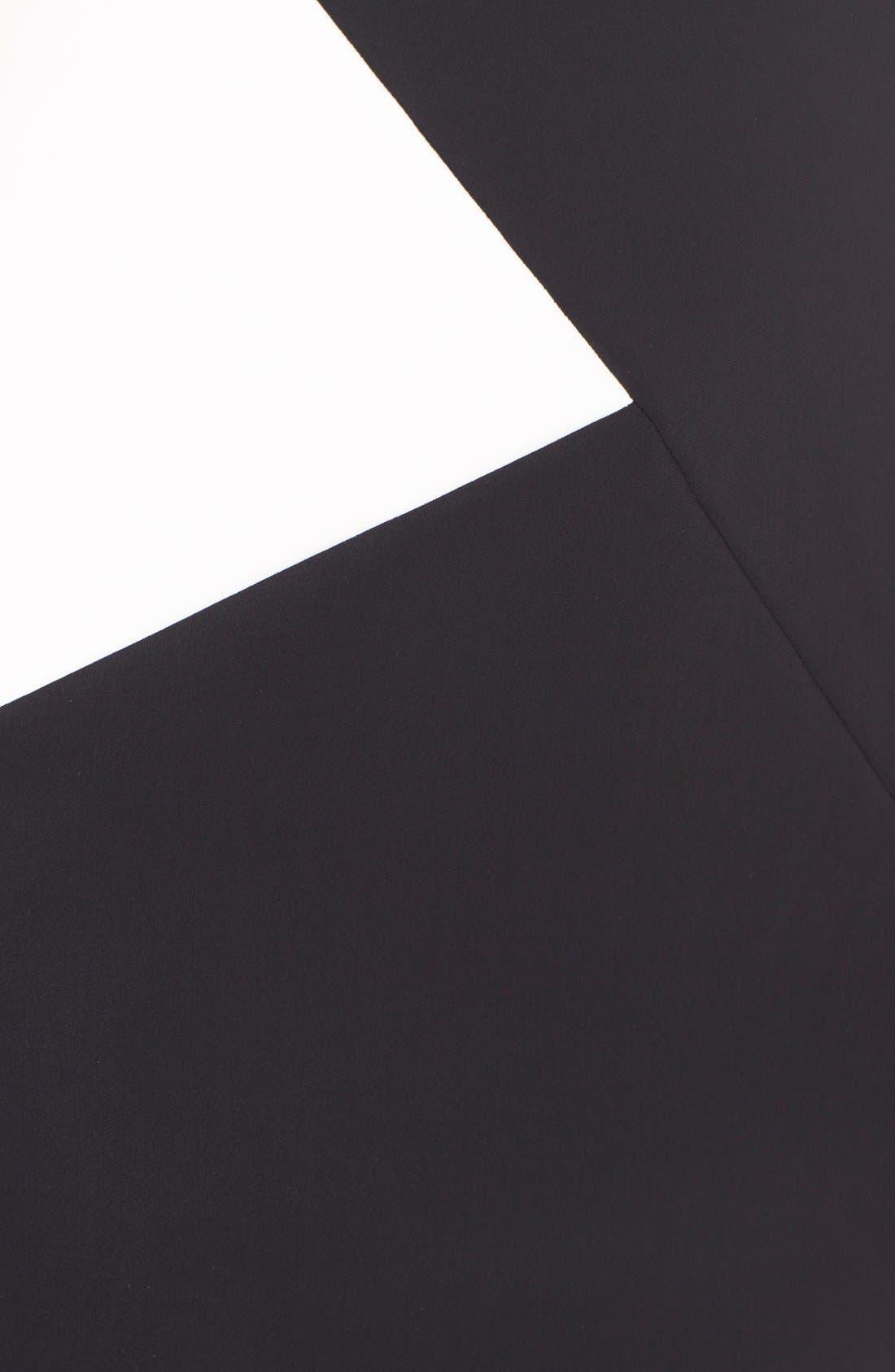 Alternate Image 6  - Chiara Boni La Petite Robe 'Giustina' Colorblock Jersey Sheath Dress
