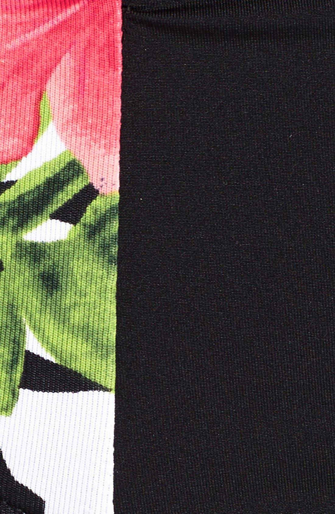 Alternate Image 6  - Tommy Bahama 'Victory Blooms' High-Waist Bikini Bottoms