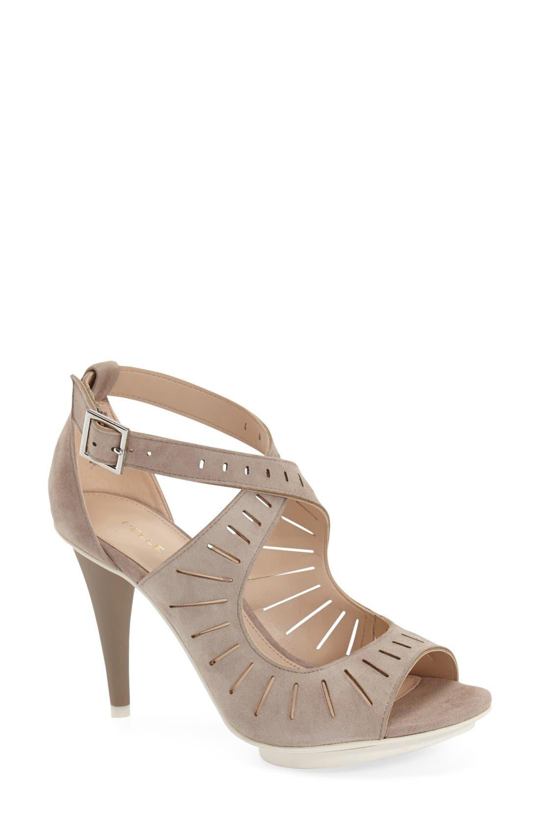 Pelle Moda 'Menlo' Cutout Sandal (Women)