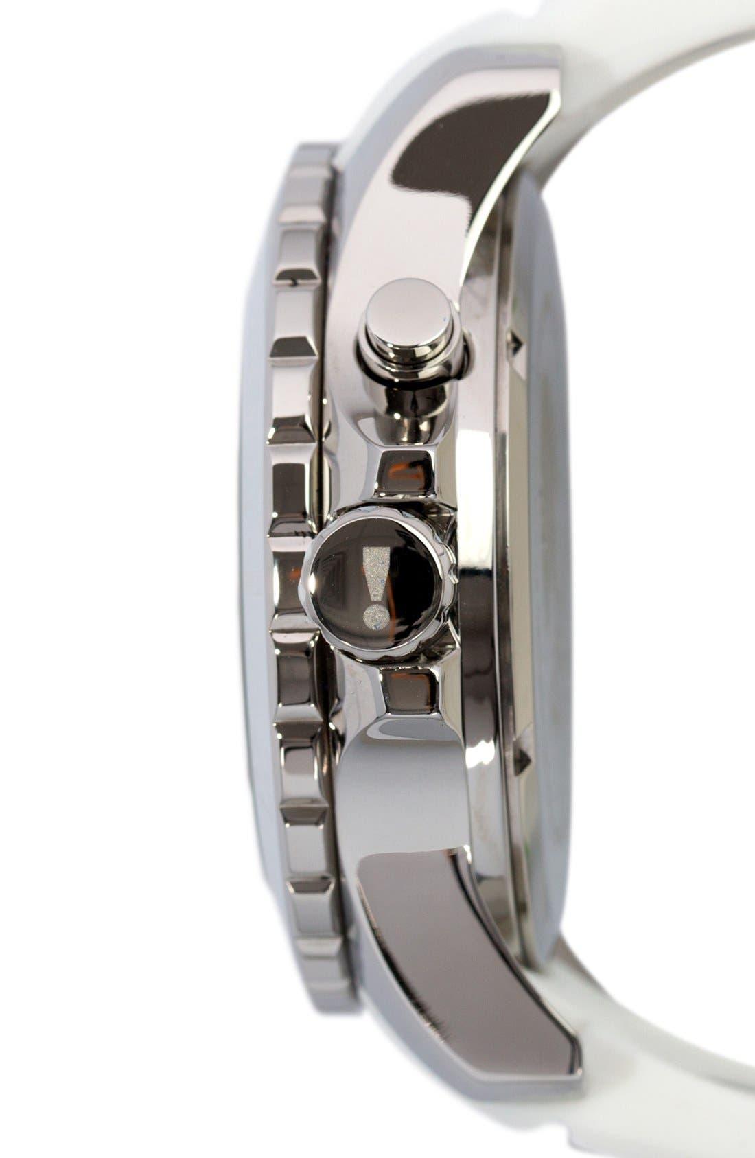 Alternate Image 3  - KYBOE! 'Power' Silicone Strap Watch, 48mm
