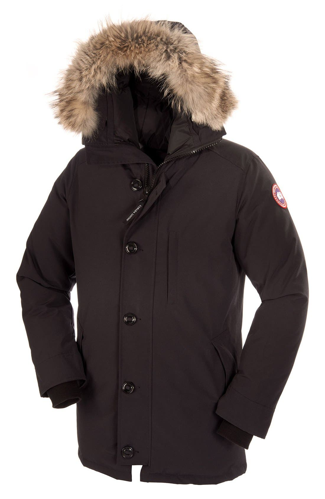 Alternate Image 6  - Canada Goose 'Chateau' Slim Fit Genuine Coyote Fur Trim Jacket