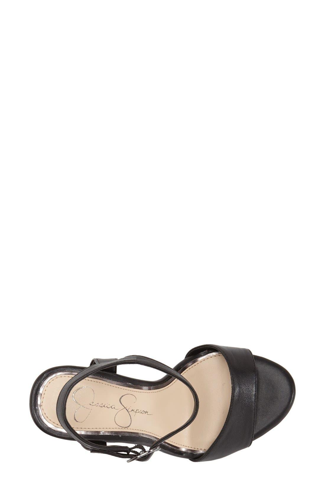 Alternate Image 3  - Jessica Simpson 'Whirl' Platform Sandal (Women)