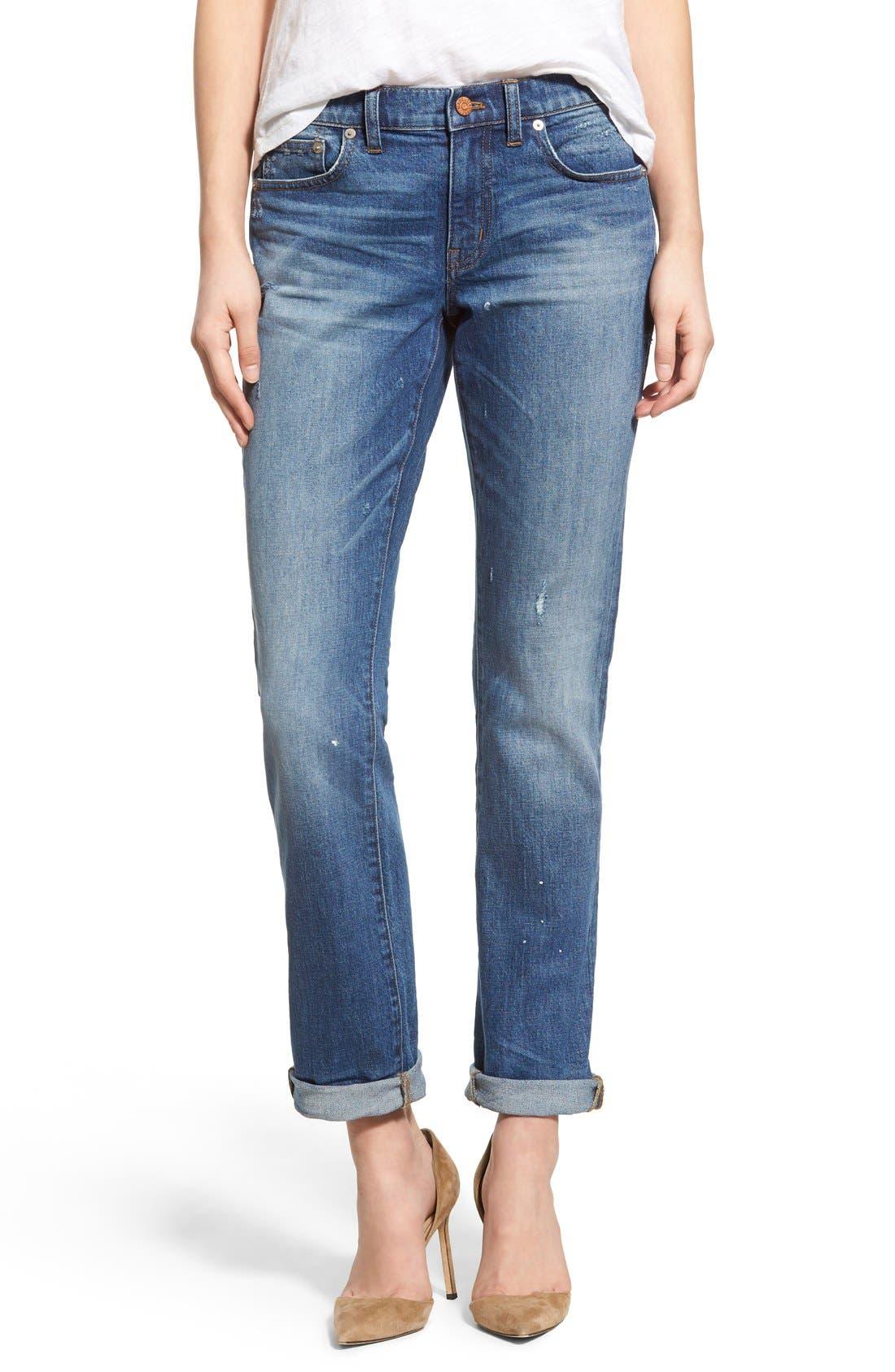 Main Image - Madewell Slim Boy Jeans (Hatfield)