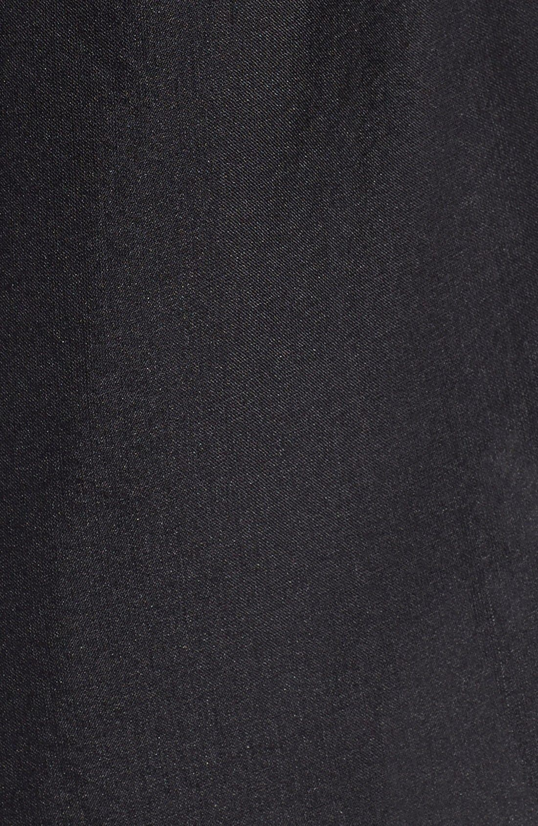 Alternate Image 4  - Glint Satin Border Silk Wrap