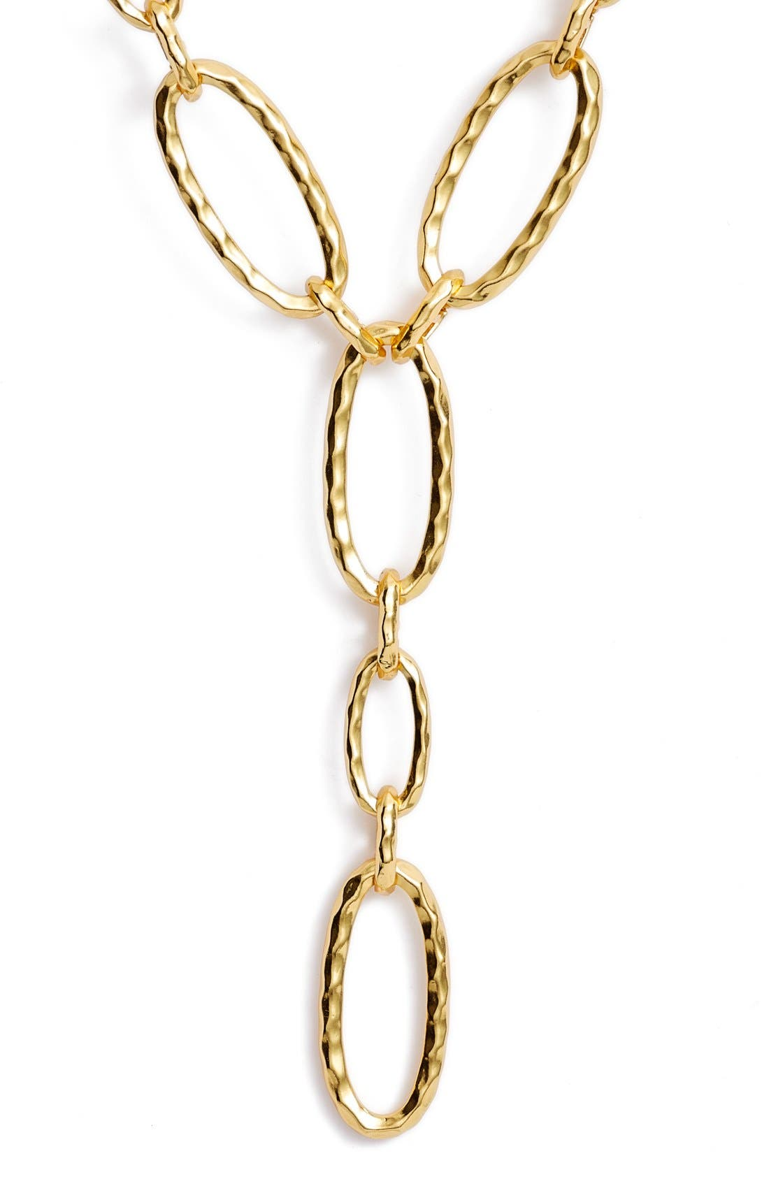 Link Y-Necklace,                             Alternate thumbnail 2, color,                             Gold