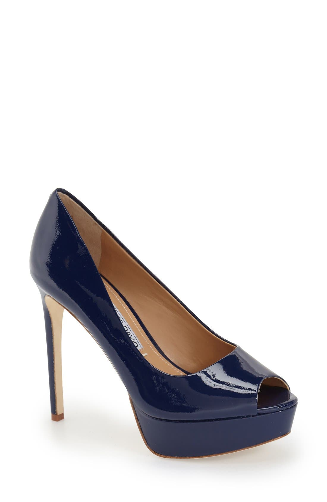 Alternate Image 1 Selected - Charles David 'Nivia' Platform Pump (Women)