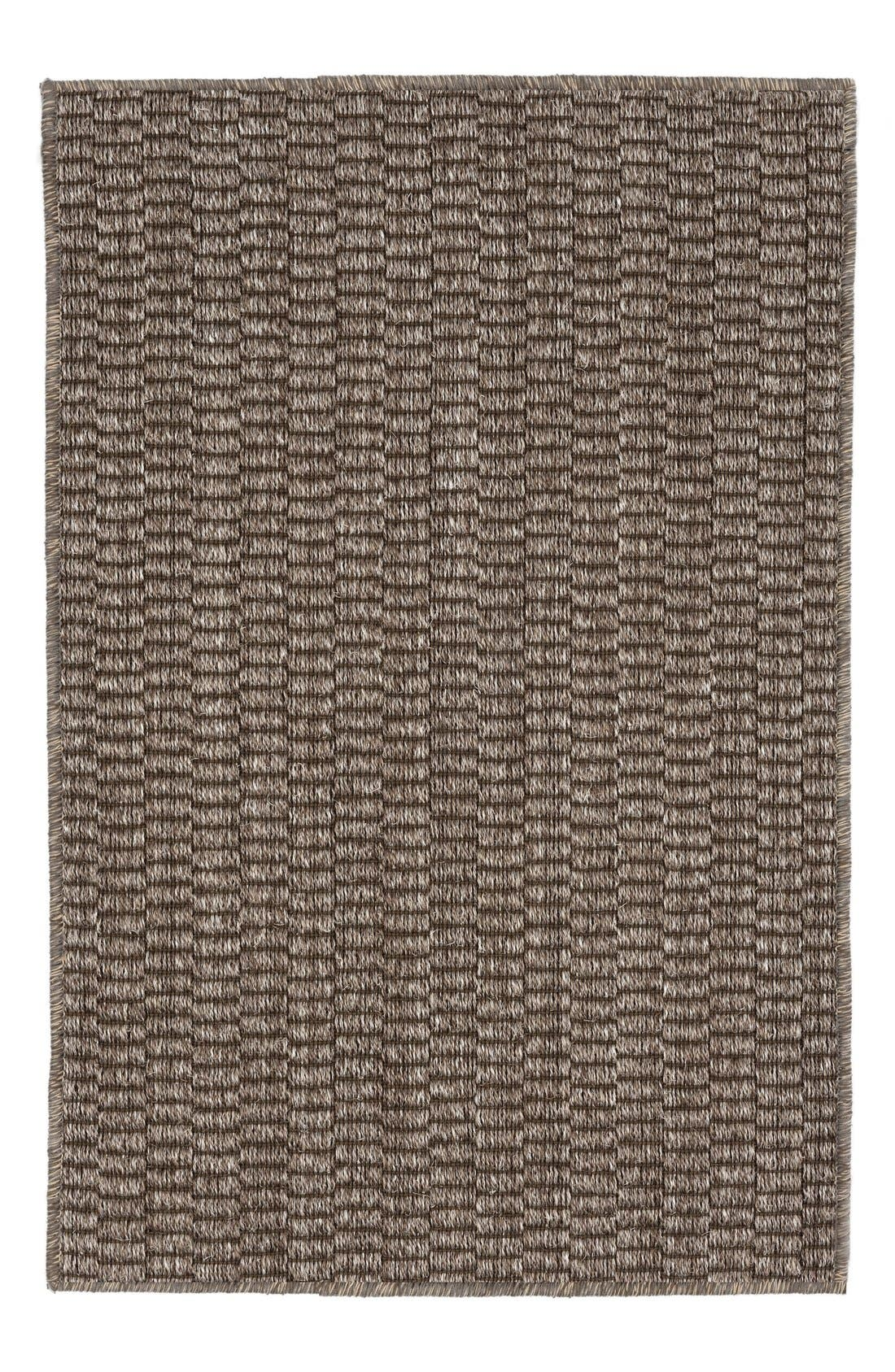 Wicker Rug,                             Main thumbnail 1, color,                             Greige
