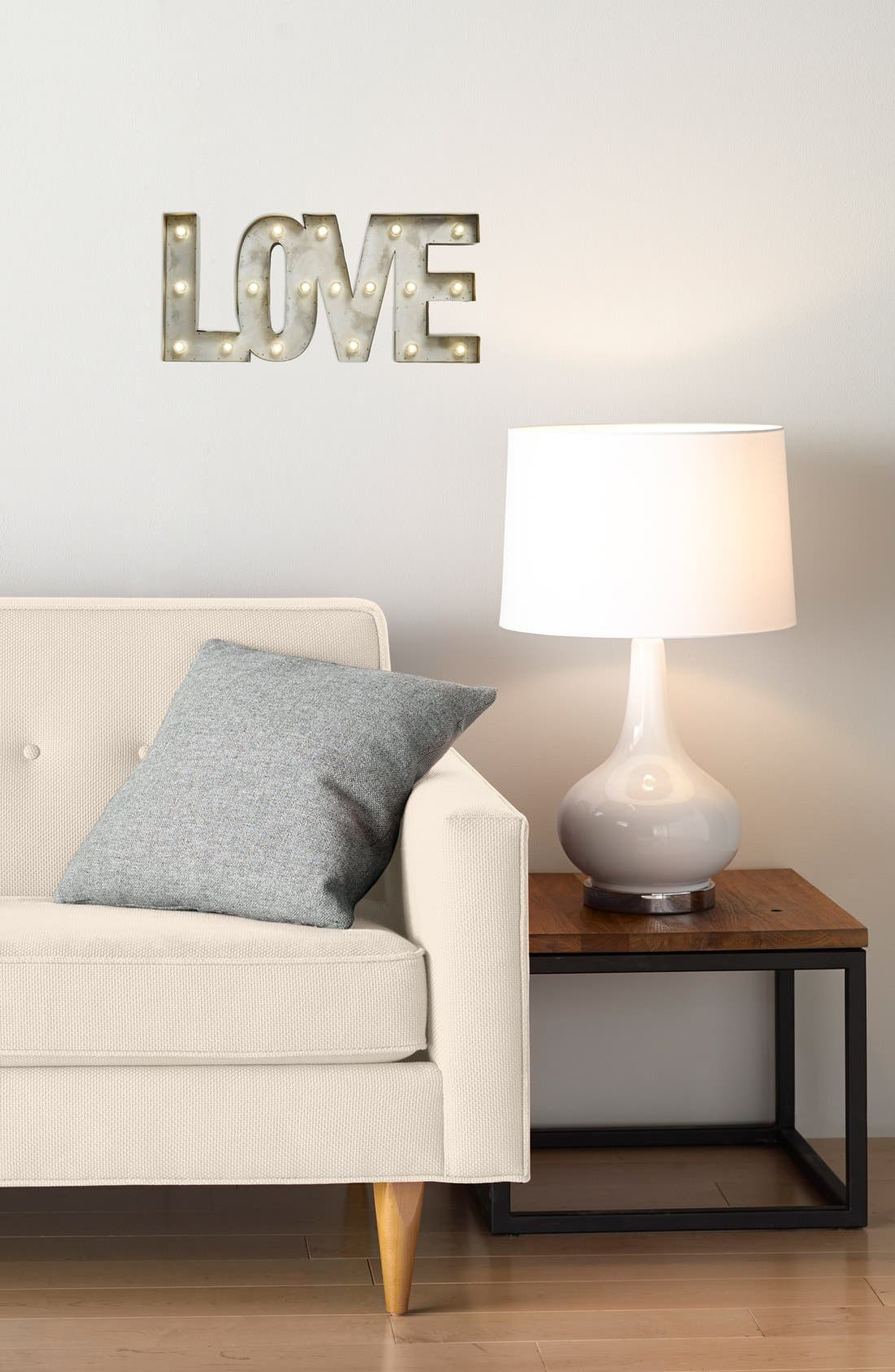 'LOVE' LED Marquee Sign,                             Alternate thumbnail 2, color,                             Metal