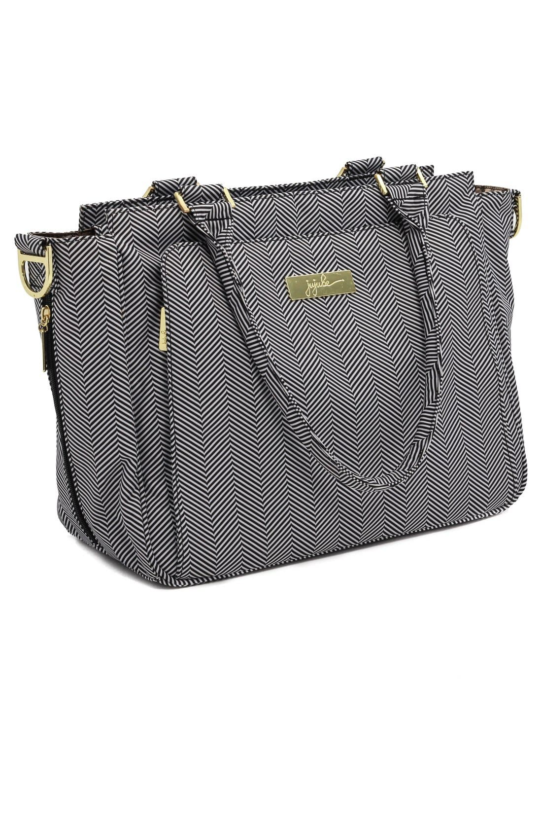 'Be Classy' Messenger Diaper Bag,                             Alternate thumbnail 4, color,                             The Queen Of The Nile