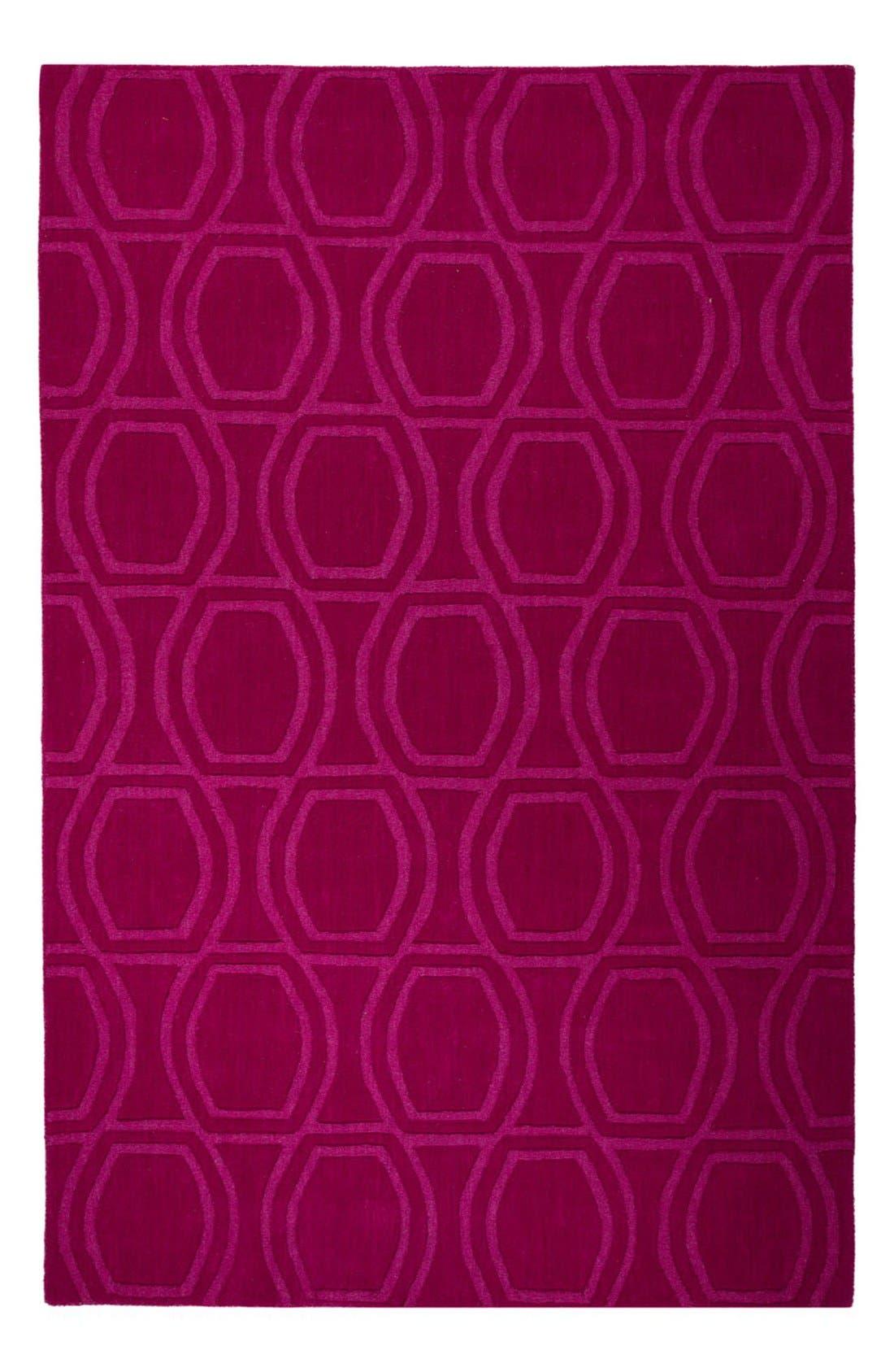 Alternate Image 1 Selected - kate spade new york 'astor' wool rug