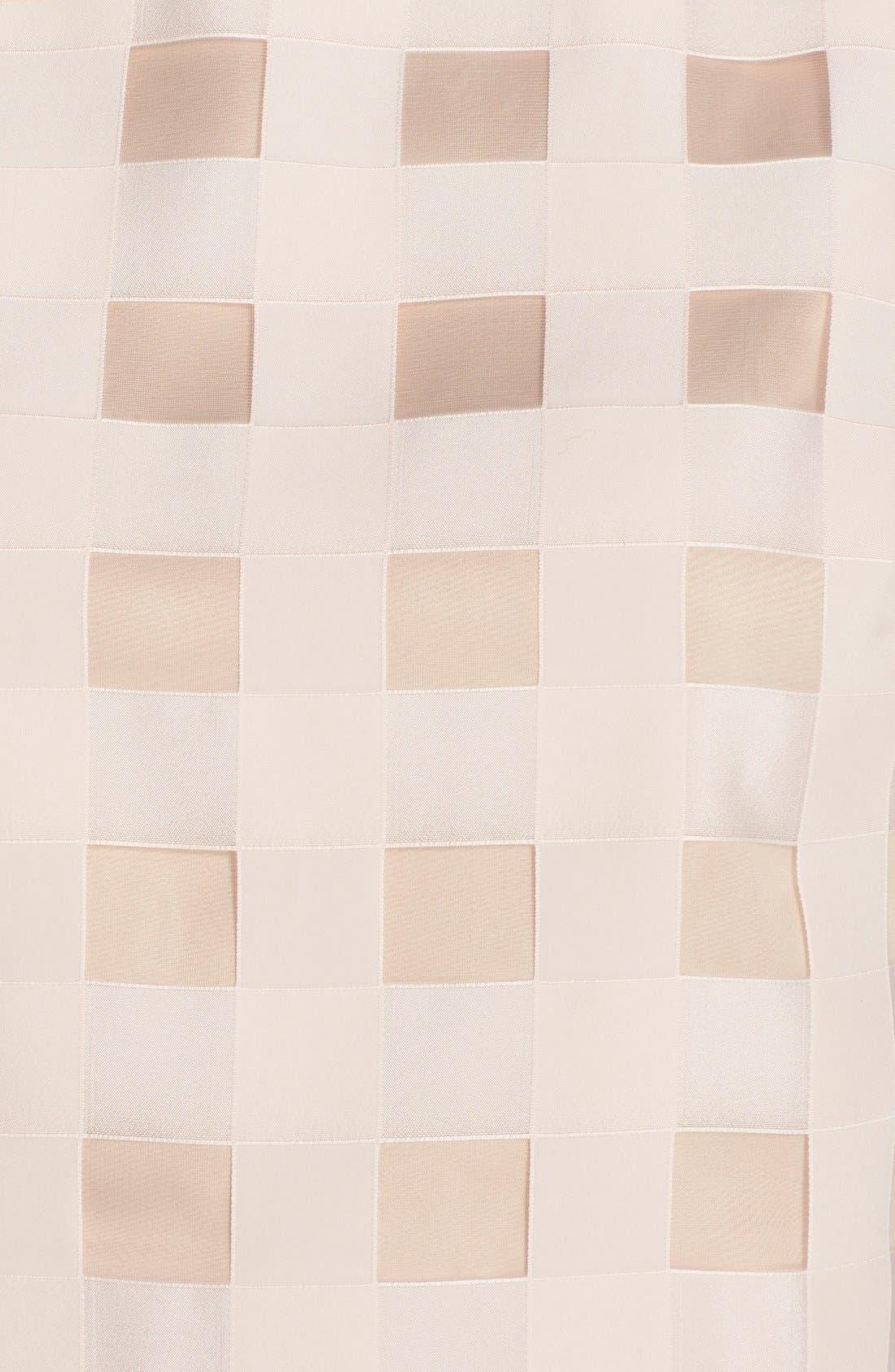 Alternate Image 5  - Eliza J Check Satin Two-Piece Dress