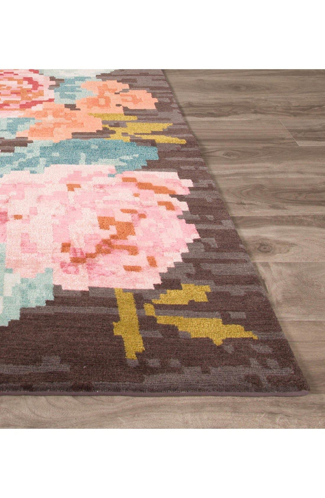 Alternate Image 2  - kate spade new york 'murray - floral pattern' wool blend rug