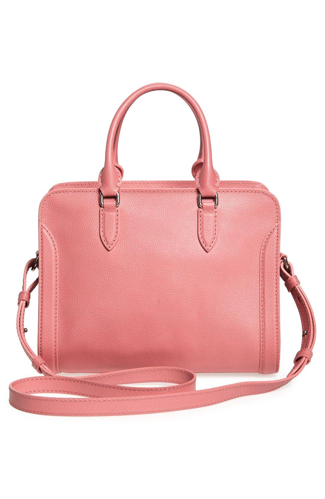 Alternate Image 3  - Alexander McQueen 'Small Padlock' Leather Duffel Bag
