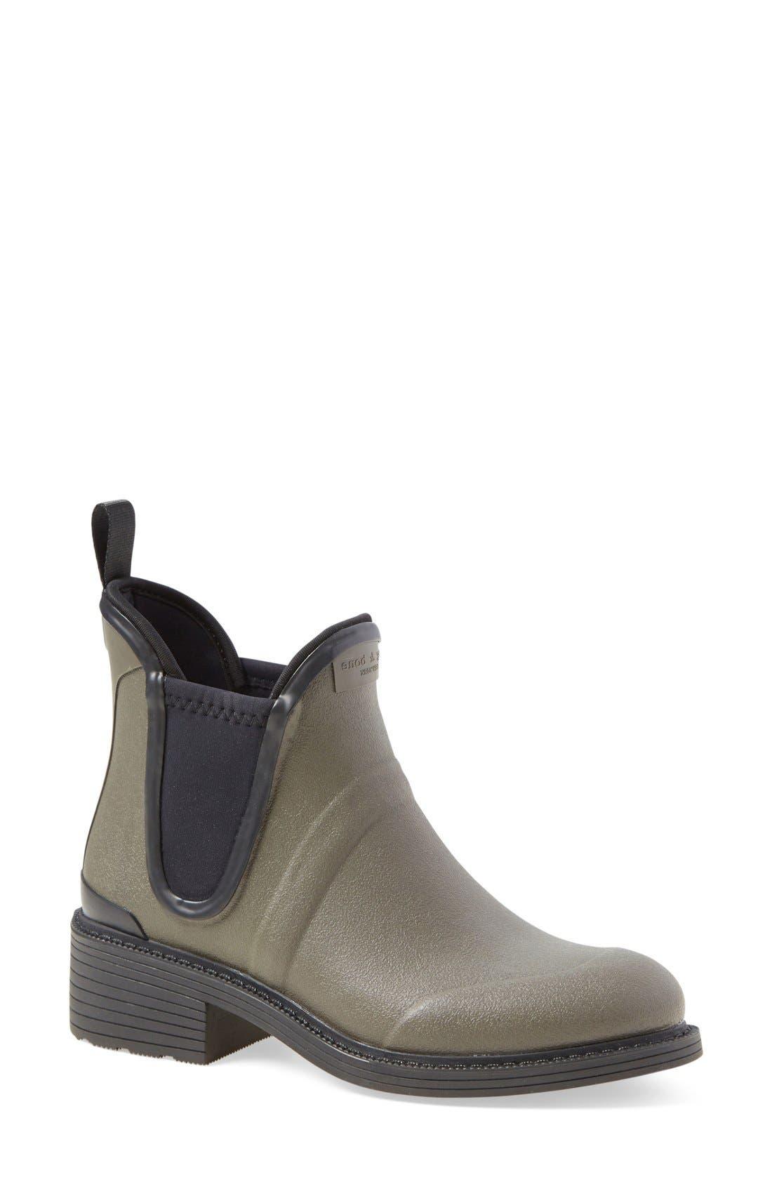 Alternate Image 1 Selected - rag & bone 'Dartford' Rubber Boot (Women)