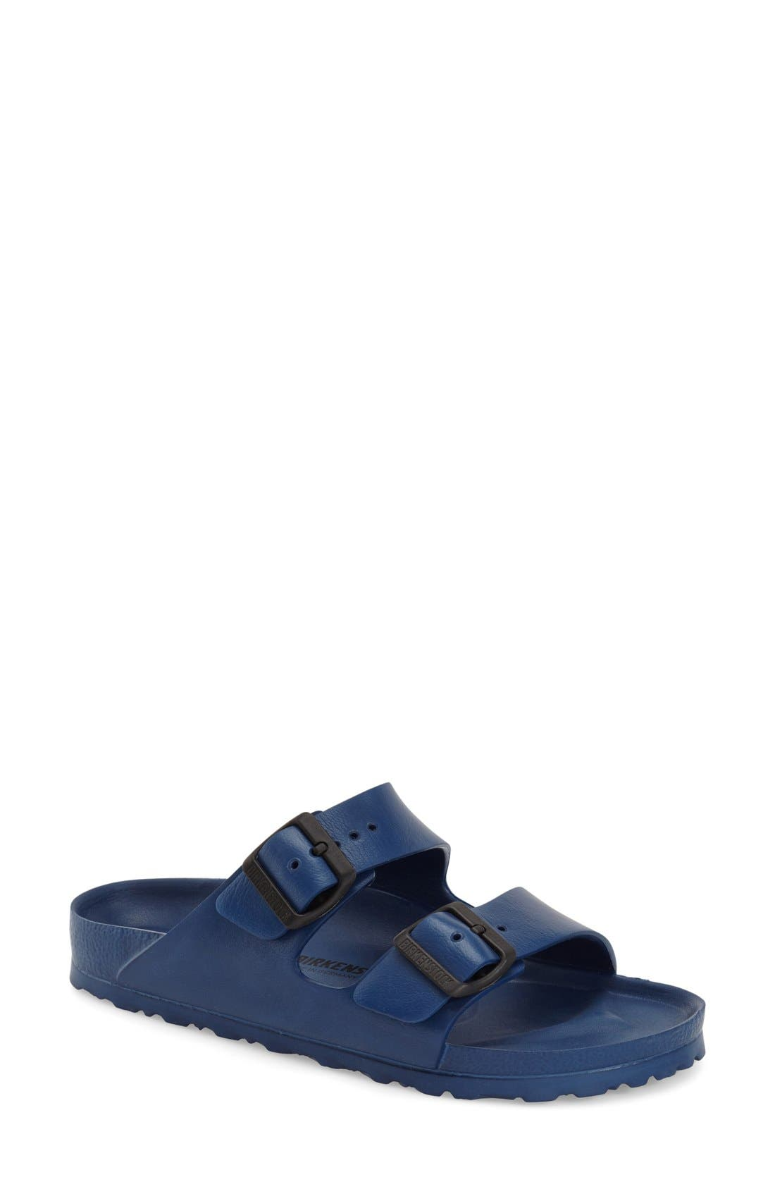 Main Image - Birkenstock Essentials - Arizona Slide Sandal (Women) (Nordstrom Exclusive)