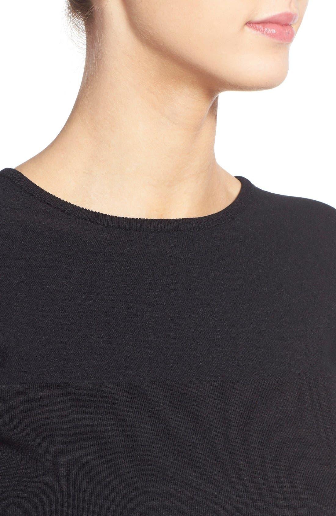 Alternate Image 5  - KENDALL + KYLIE Crop Knit Sweater