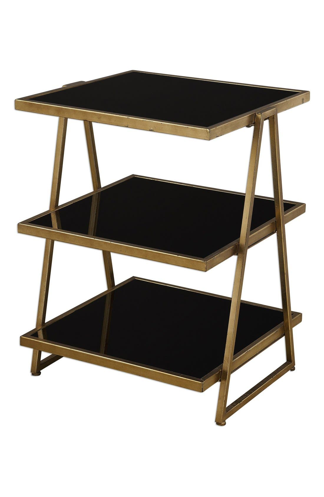 'Garrity' Accent Table,                         Main,                         color, Metallic Gold