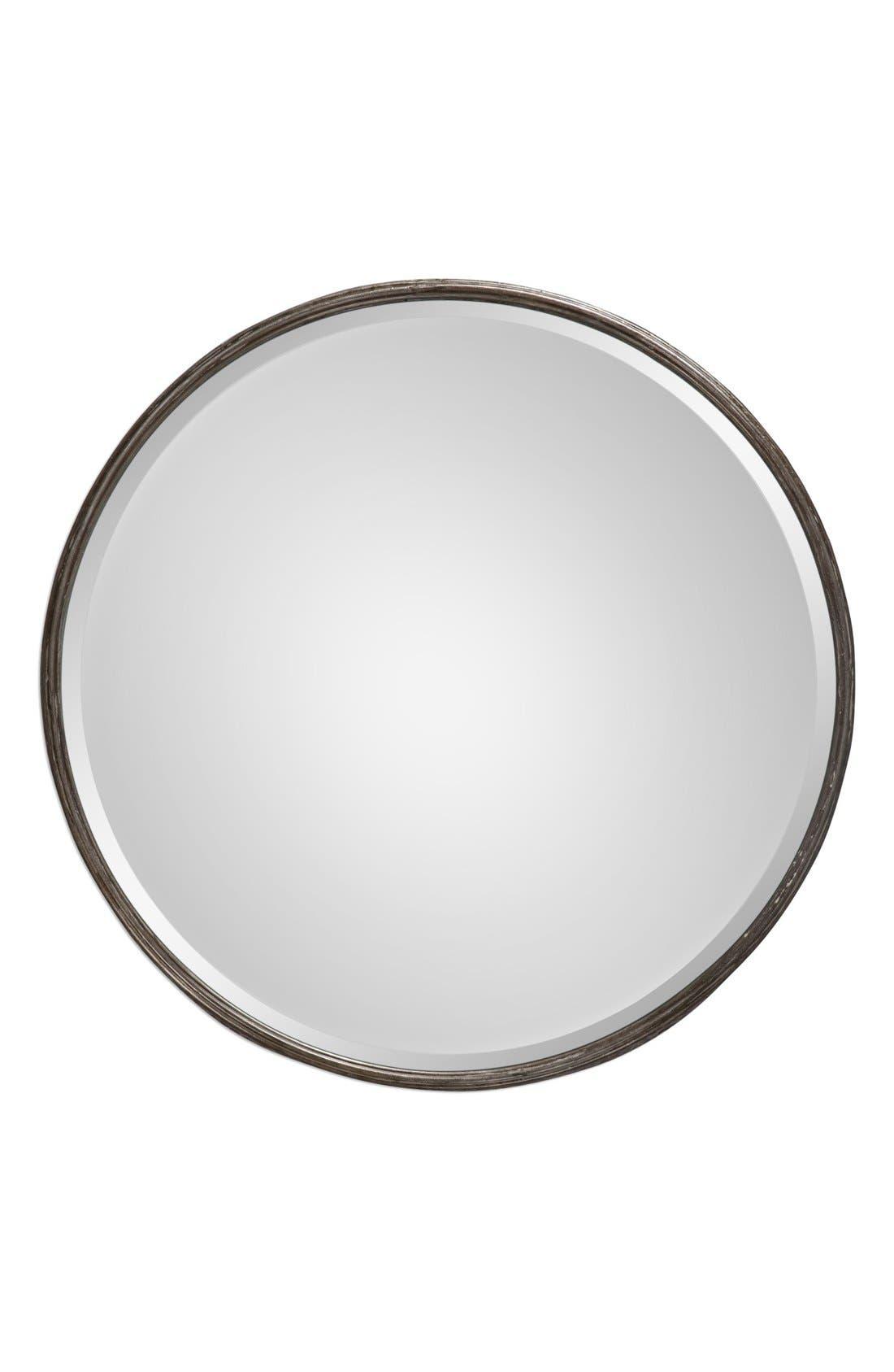 Uttermost 'Nova' Round Metal Mirror