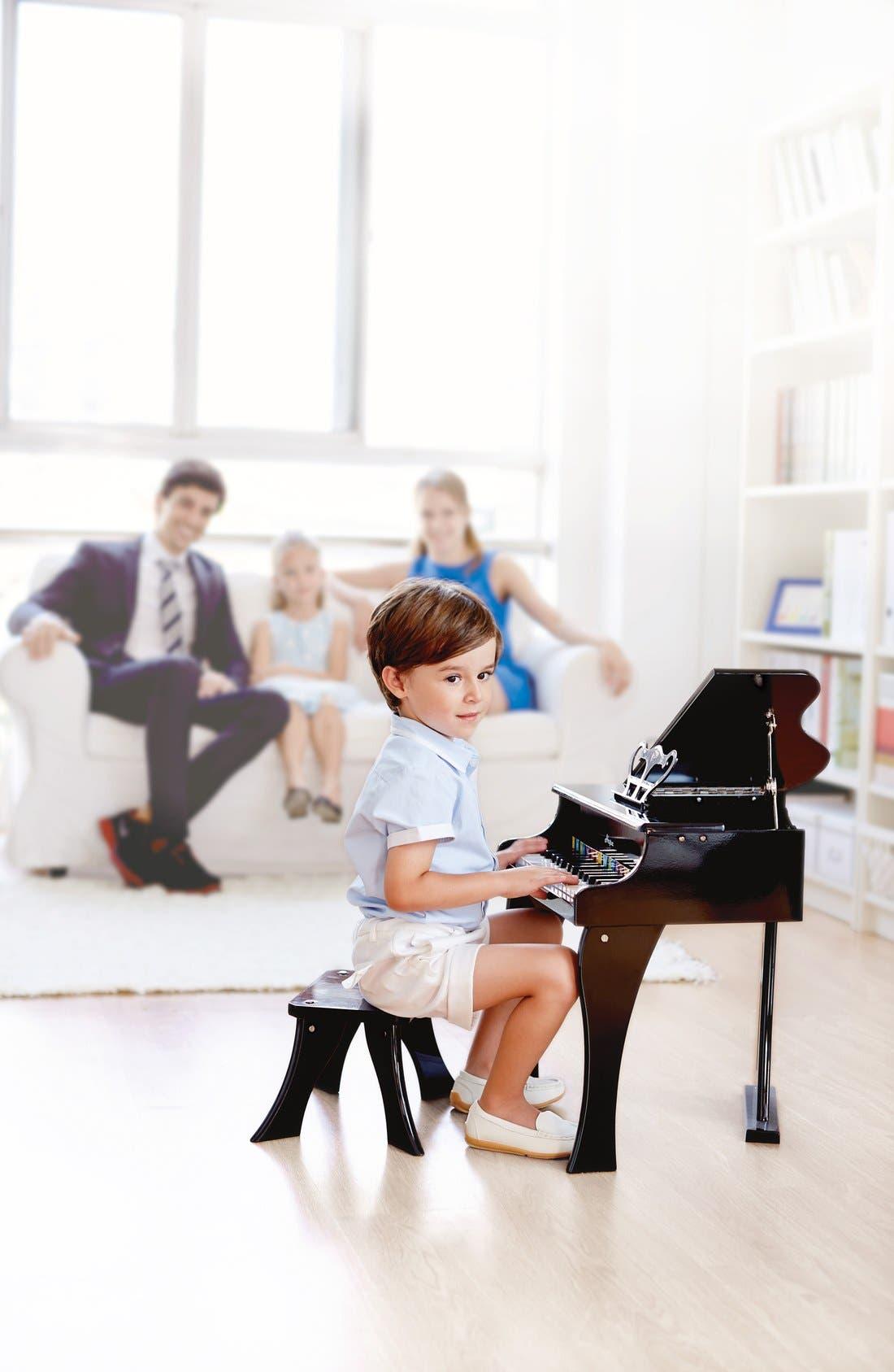 Alternate Image 2  - Hape 'Happy Grand' Toy Grand Piano & Bench (Kids)
