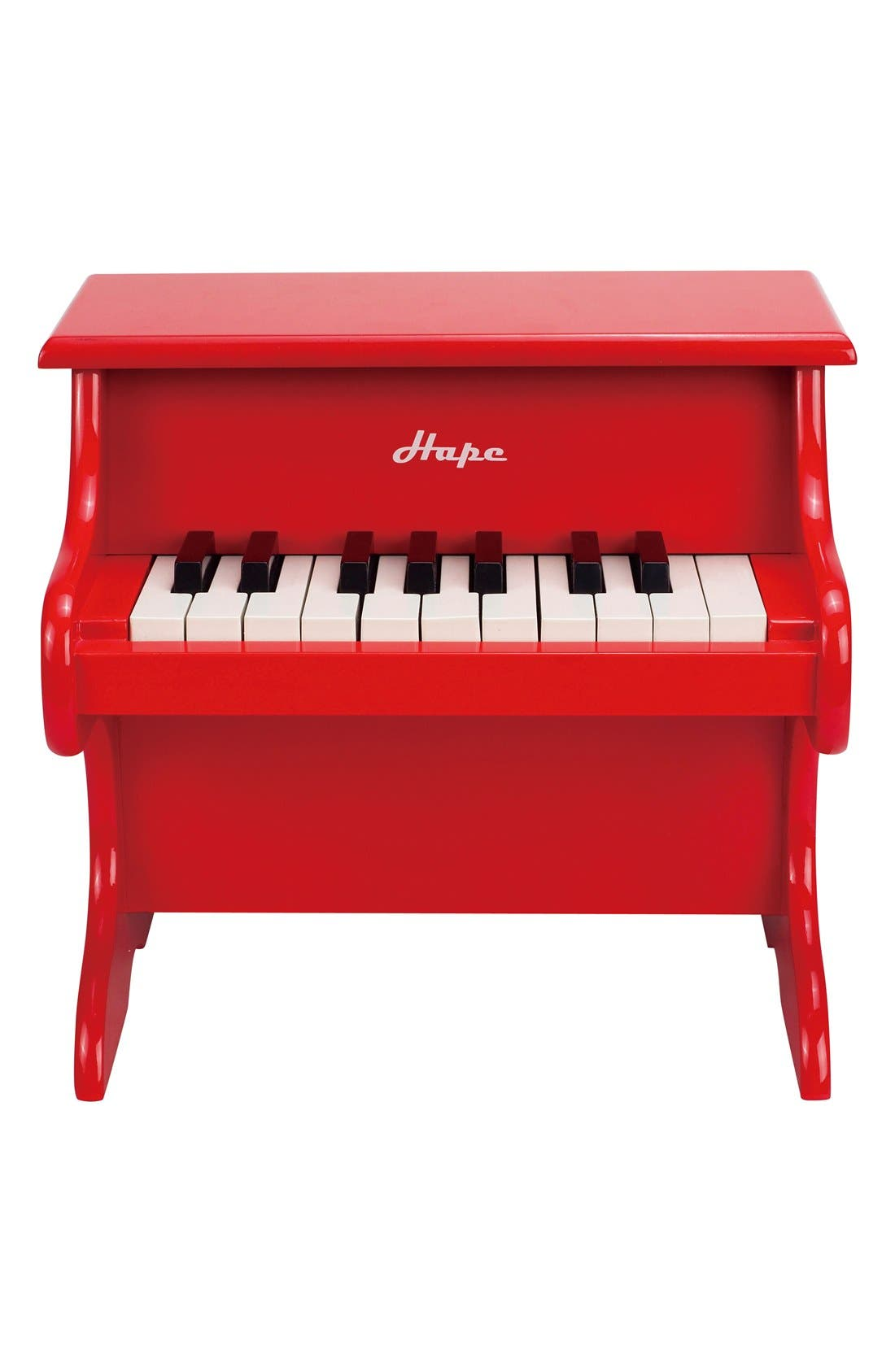 'Playful' Toy Piano,                             Main thumbnail 1, color,                             Red