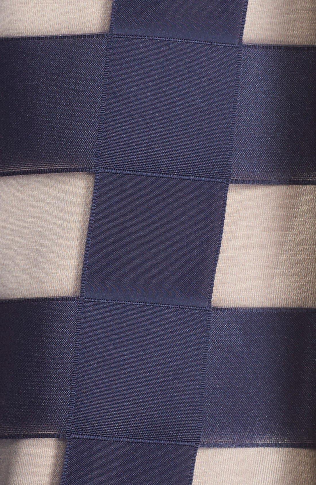 Alternate Image 4  - Eliza J Windowpane Satin Ball Skirt
