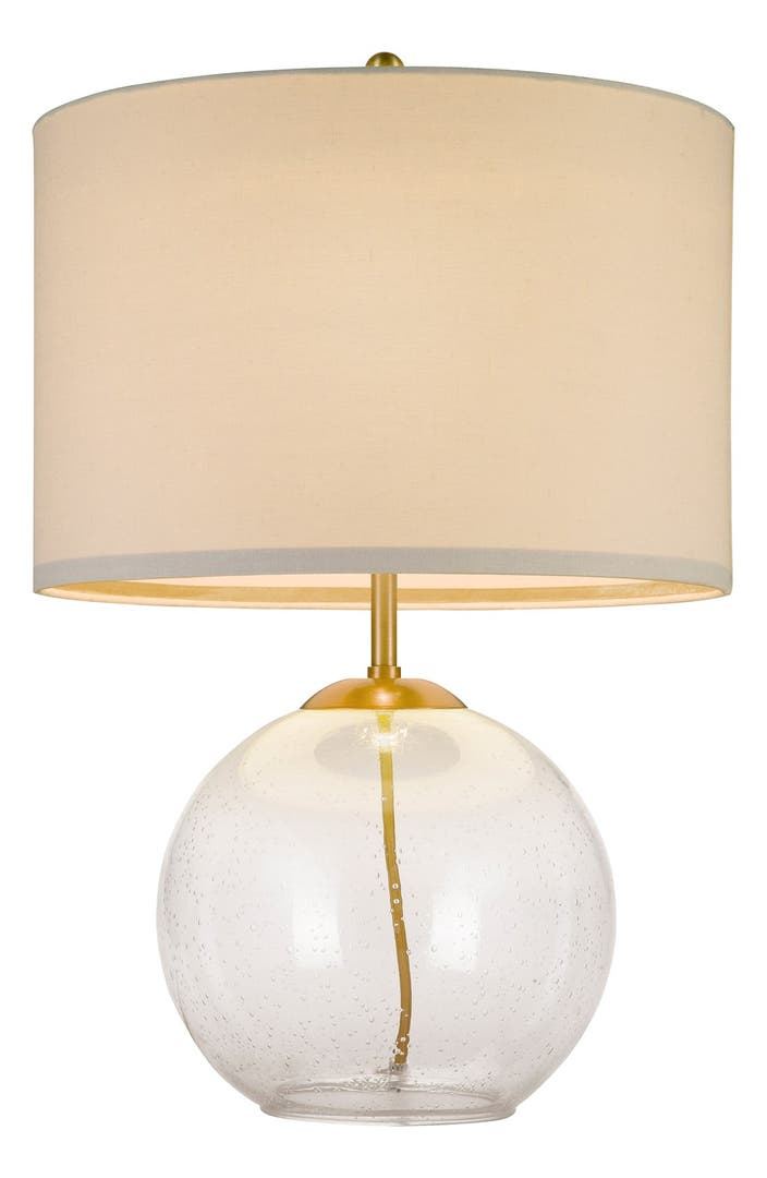 Cupcakes And Cashmere Seeded Glass Table Lamp Nordstrom