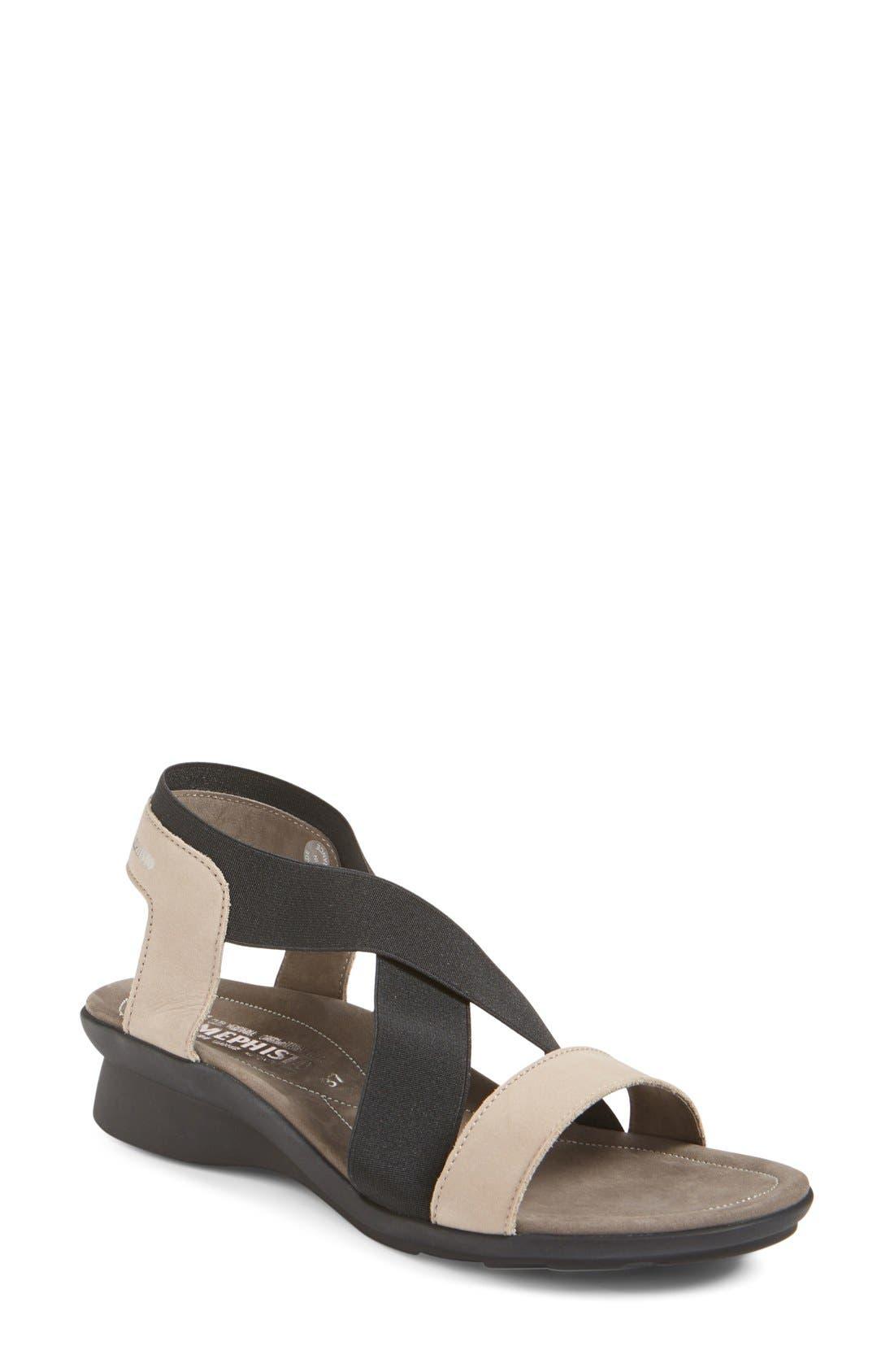 'Pastora' Sandal,                             Main thumbnail 1, color,                             Warm Grey