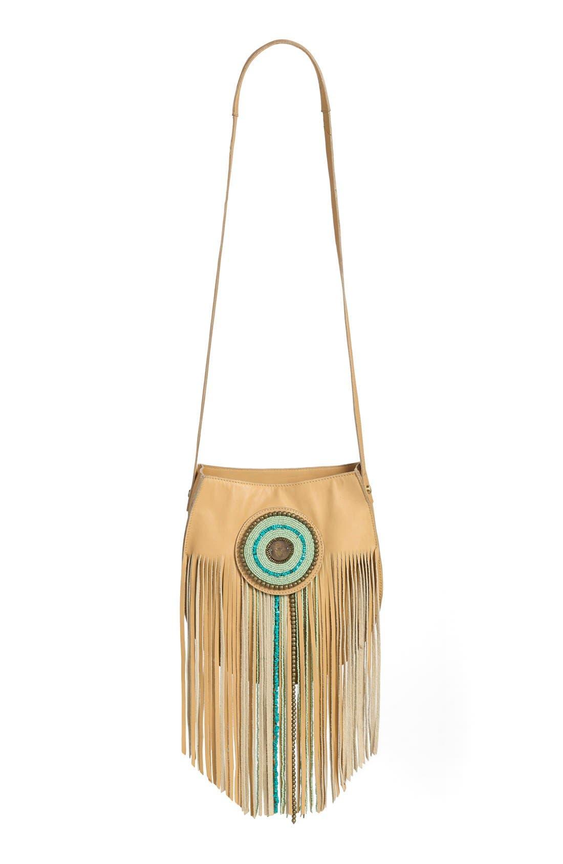 Alternate Image 2  - Sam Edelman 'Karina' Fringe Leather Shoulder Bag