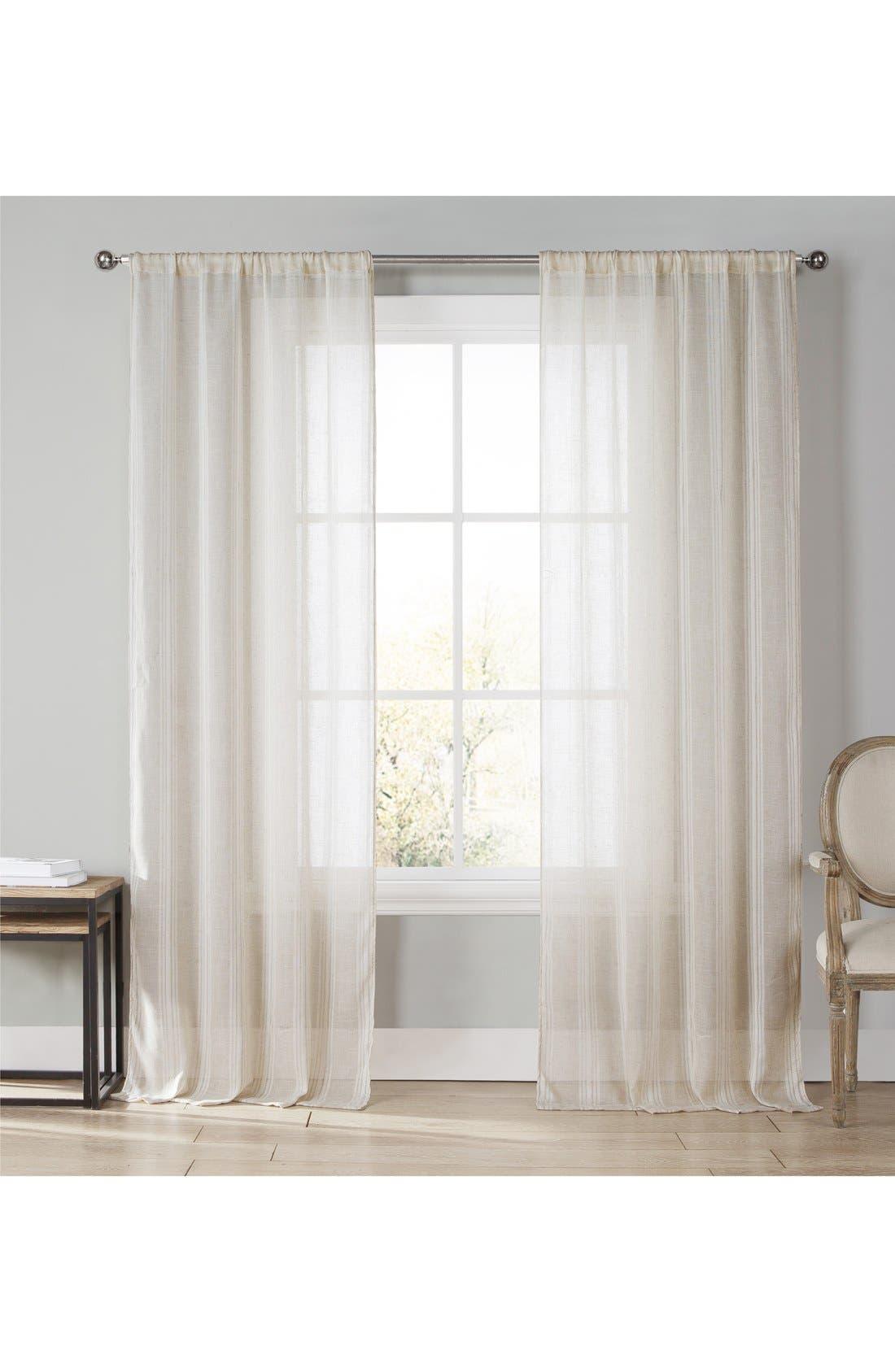 Main Image - Duck River Textile 'Xeni' Pole Top Window Panels (Set of 2)