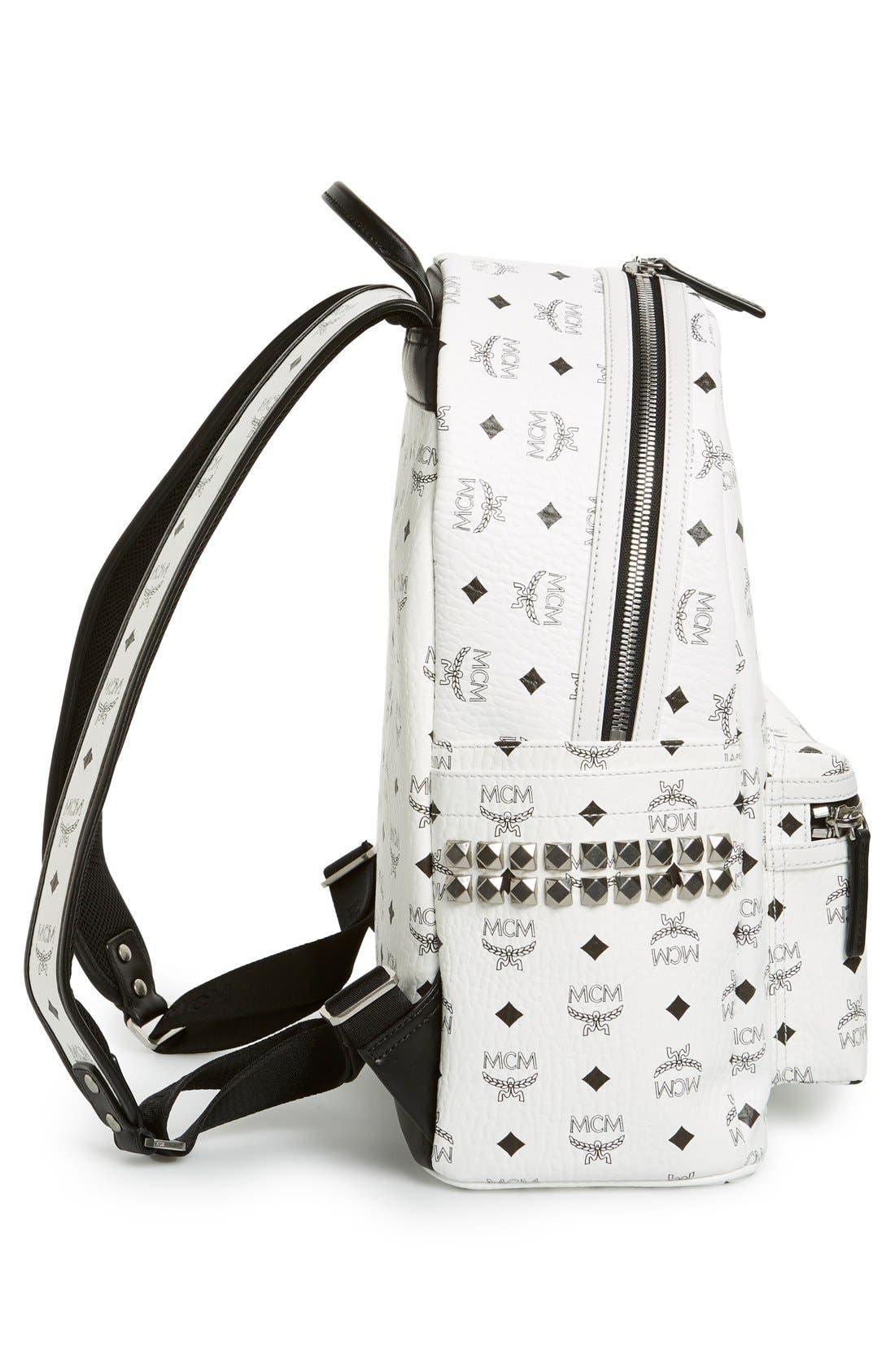 Alternate Image 5  - MCM 'Medium Stark' Side Stud Backpack