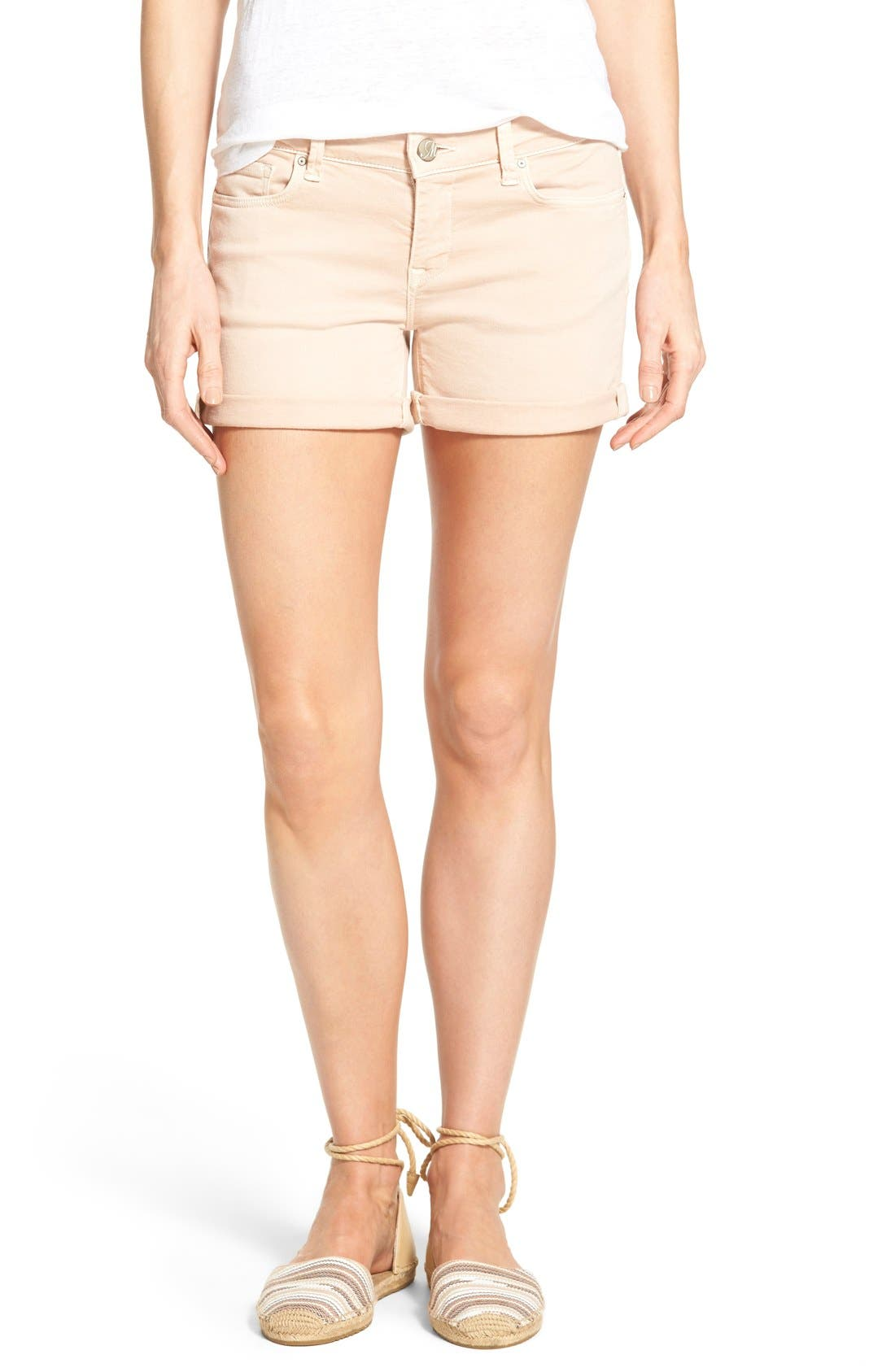 Alternate Image 1 Selected - Mavi Jeans 'Vanna' Stretch Twill Five-Pocket Shorts